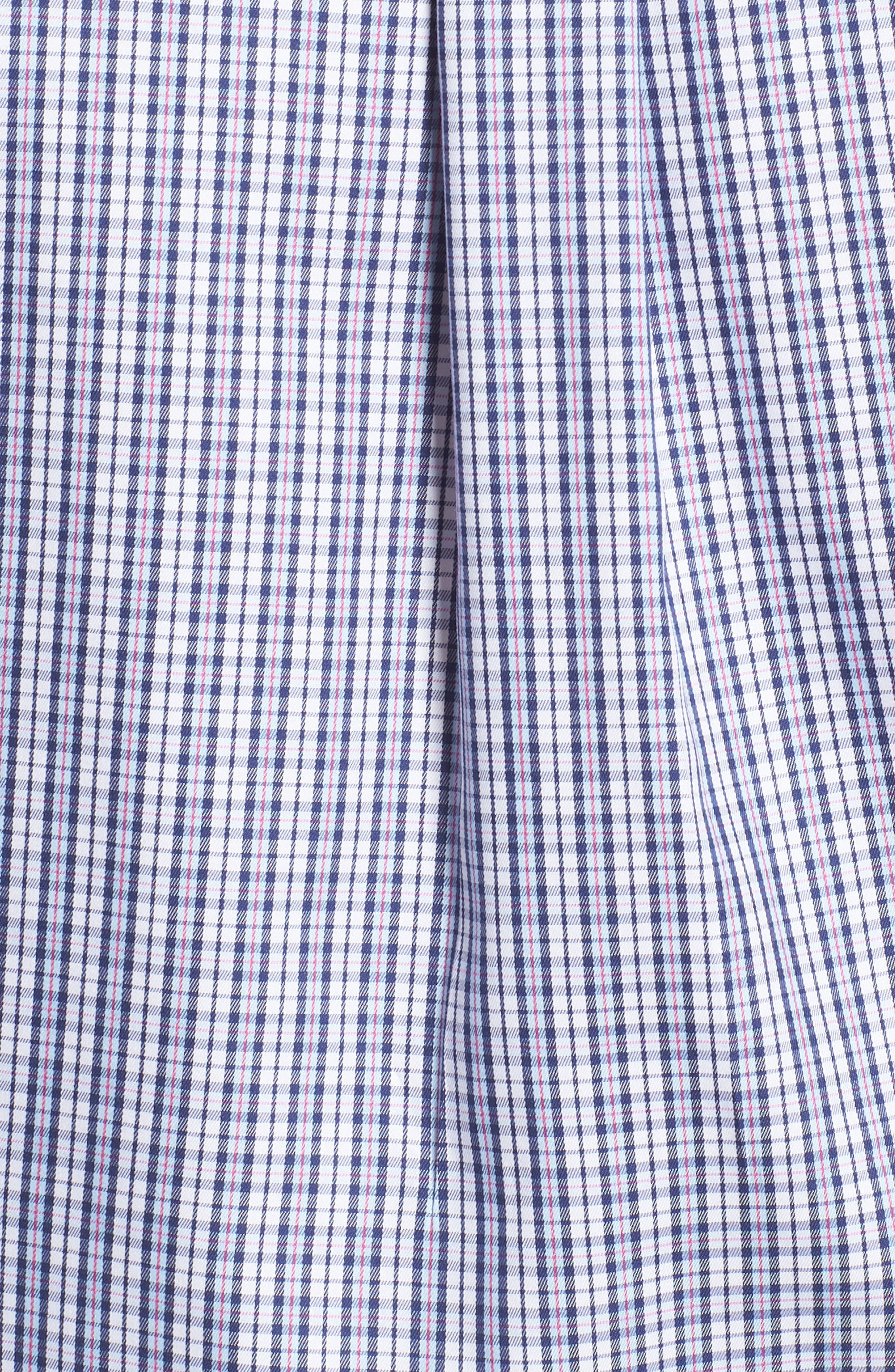 Crown Soft Carlsplaid Regular Fit Sport Shirt,                             Alternate thumbnail 5, color,                             412
