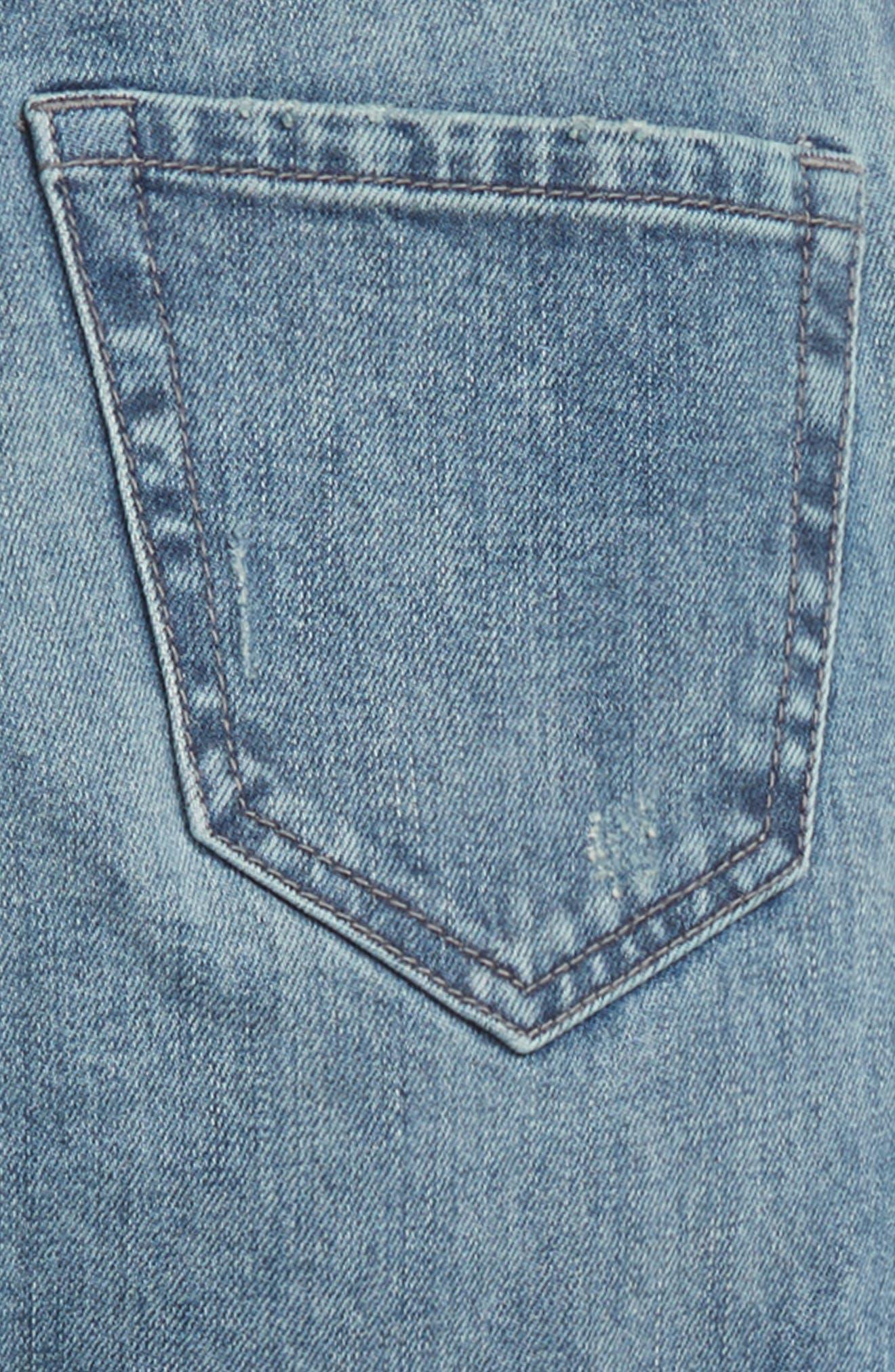 Treaure & Bond Light Wash Jeans,                             Alternate thumbnail 3, color,                             ACID FADE WASH
