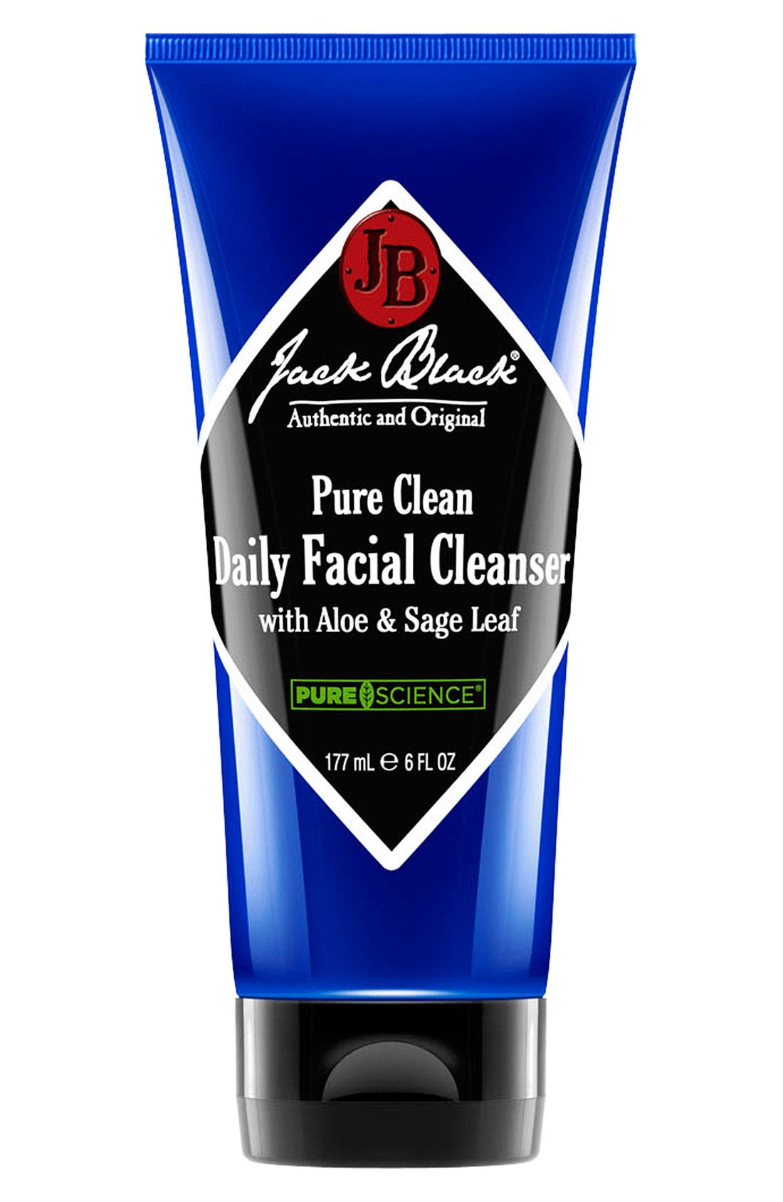 Pure Clean Daily Facial Cleanser,                             Main thumbnail 1, color,                             000