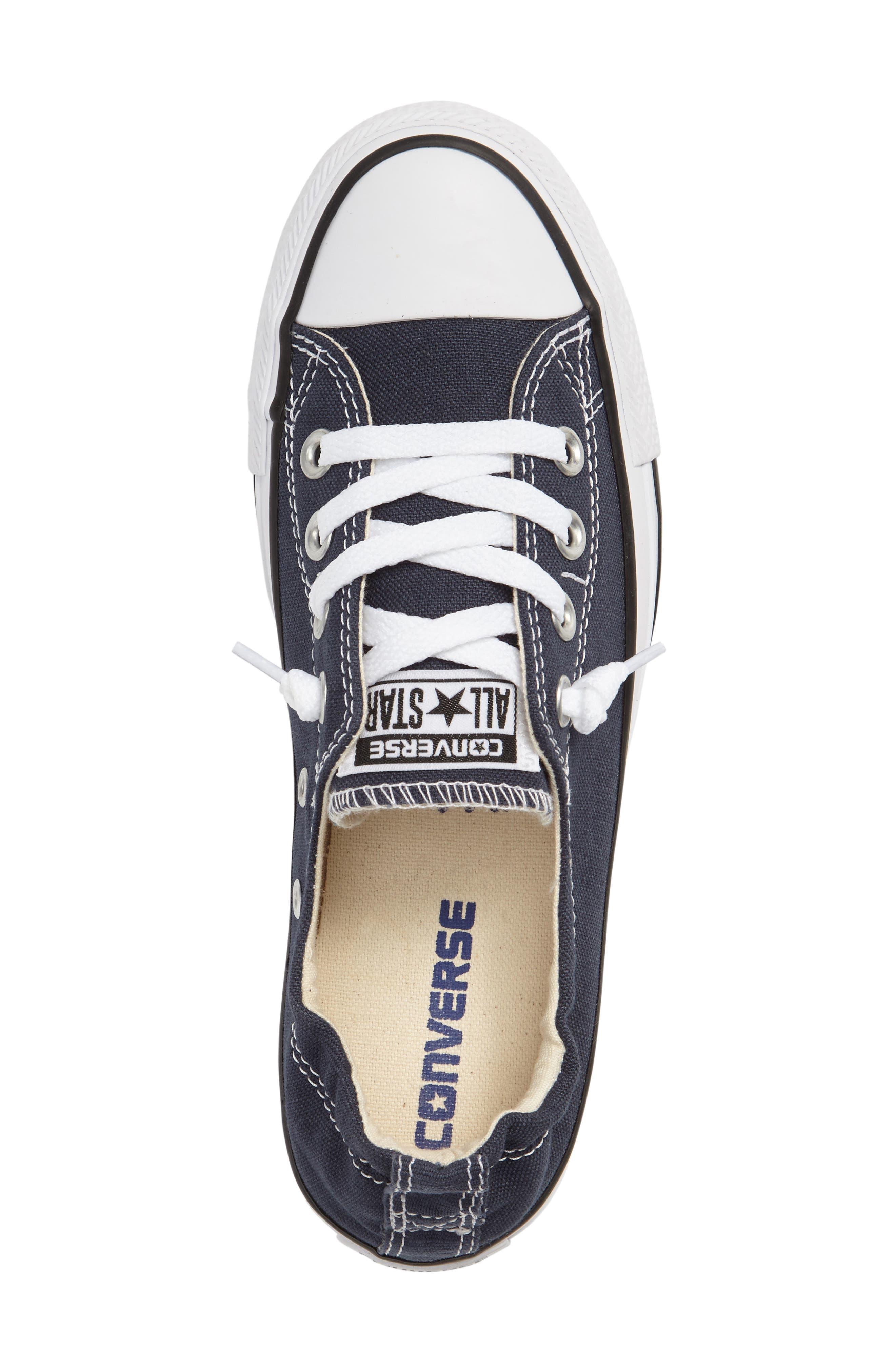 Chuck Taylor<sup>®</sup> 'Shoreline' Sneaker,                             Alternate thumbnail 4, color,                             NAVY