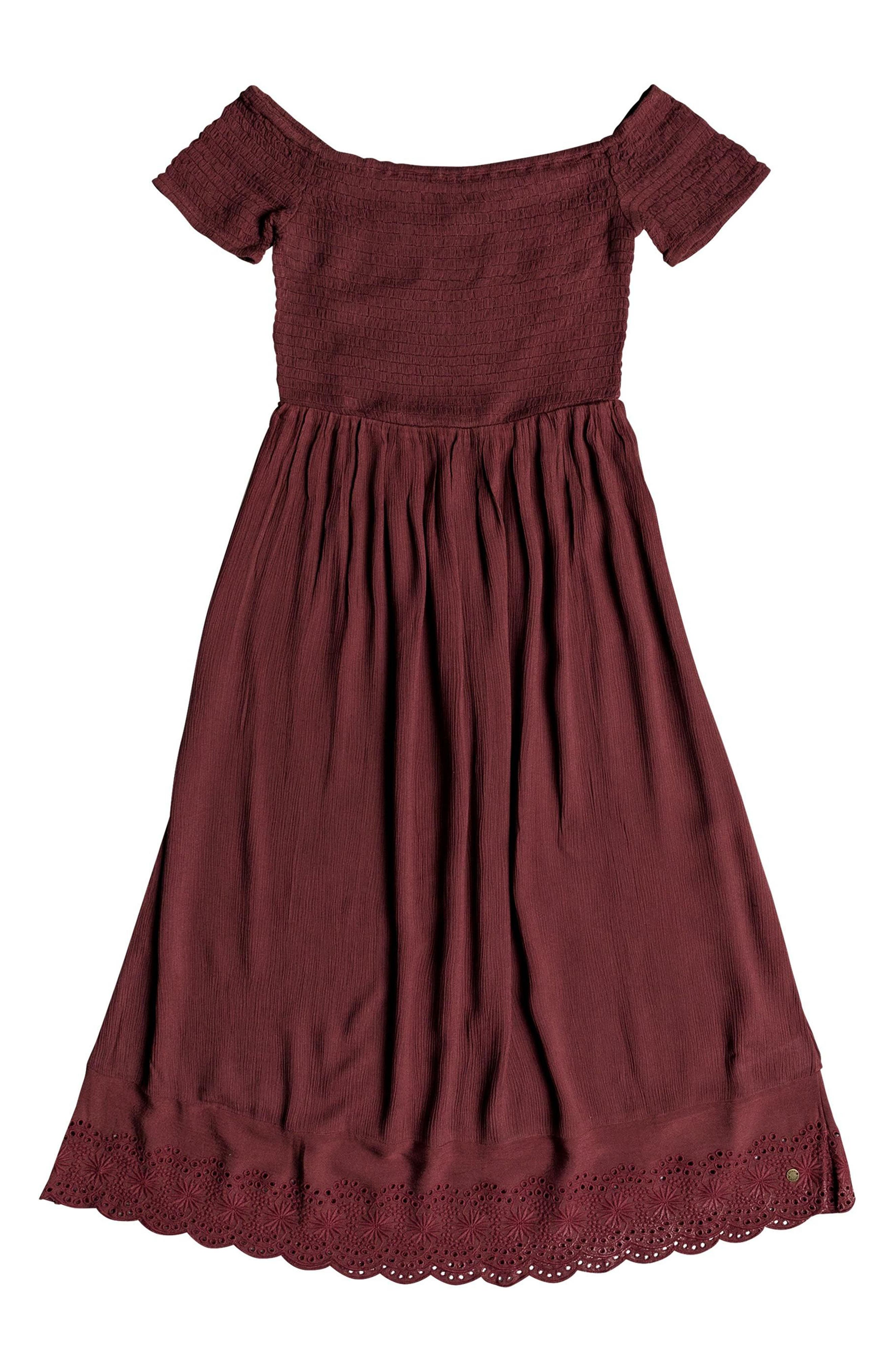 Pretty Lovers Off the Shoulder Midi Dress,                             Alternate thumbnail 11, color,