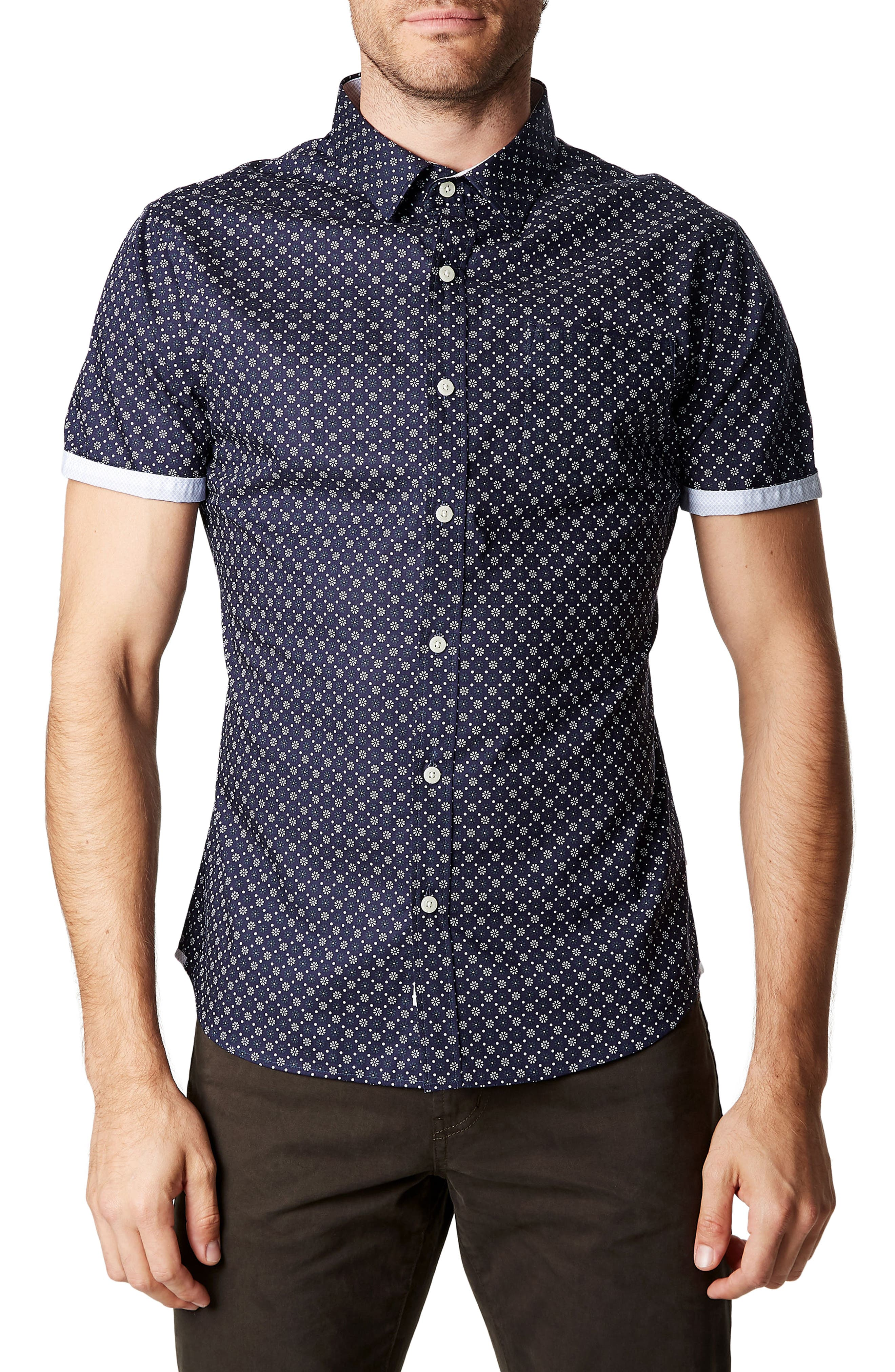 Hold It Down Woven Shirt,                         Main,                         color, 410