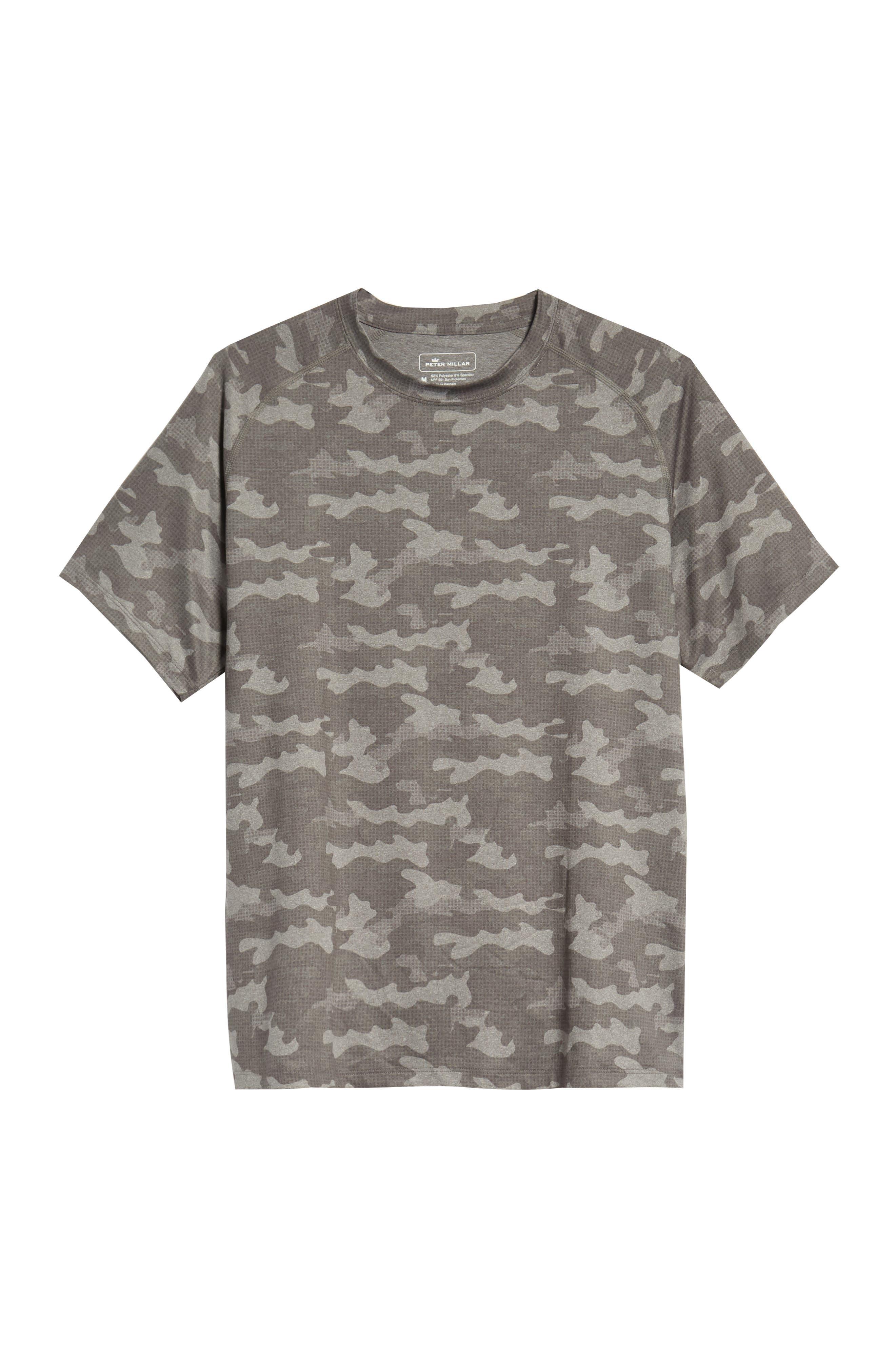 Rio Camo Tech T-Shirt,                             Alternate thumbnail 6, color,                             GREY