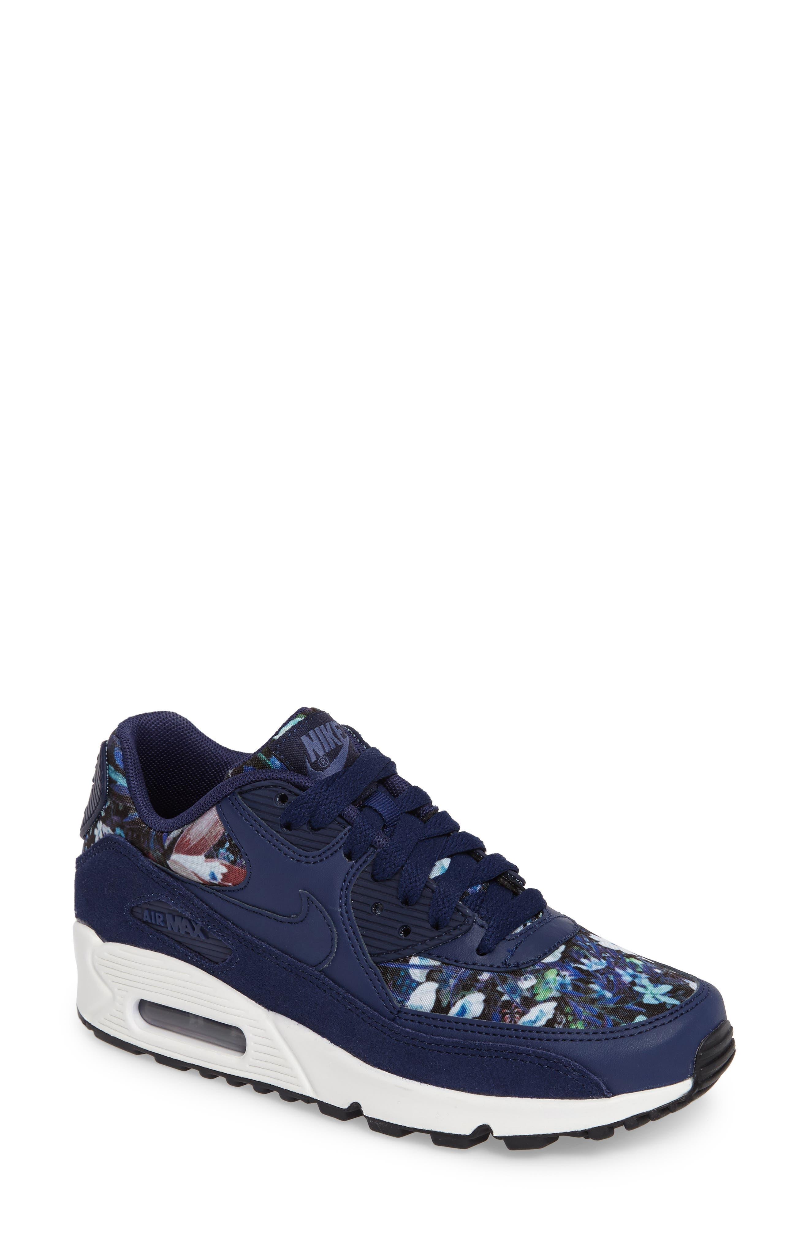 Air Max 90 SE Sneaker,                             Main thumbnail 6, color,