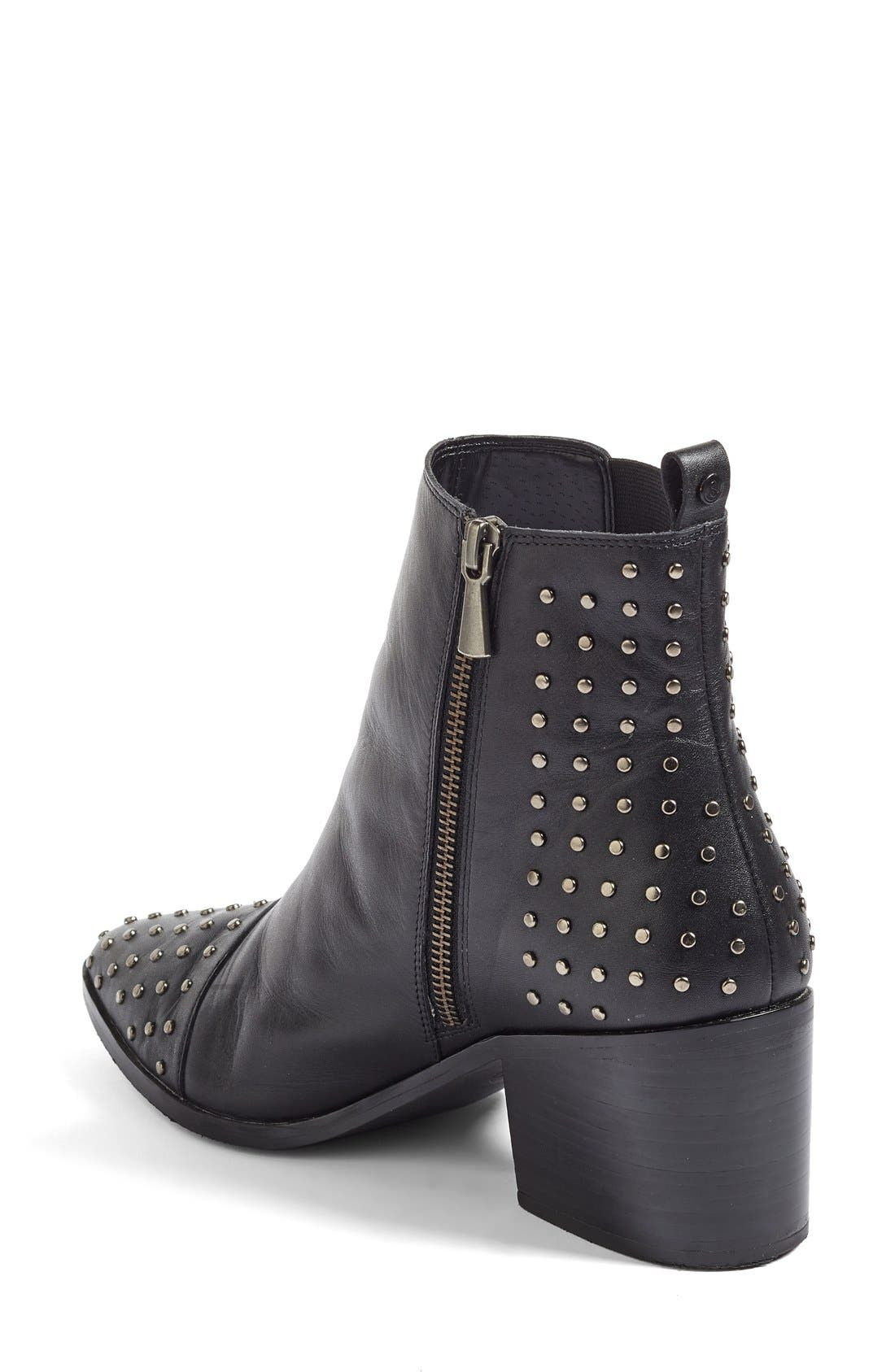Treasure&Bond Harlan Studded Chelsea Boot,                             Alternate thumbnail 6, color,
