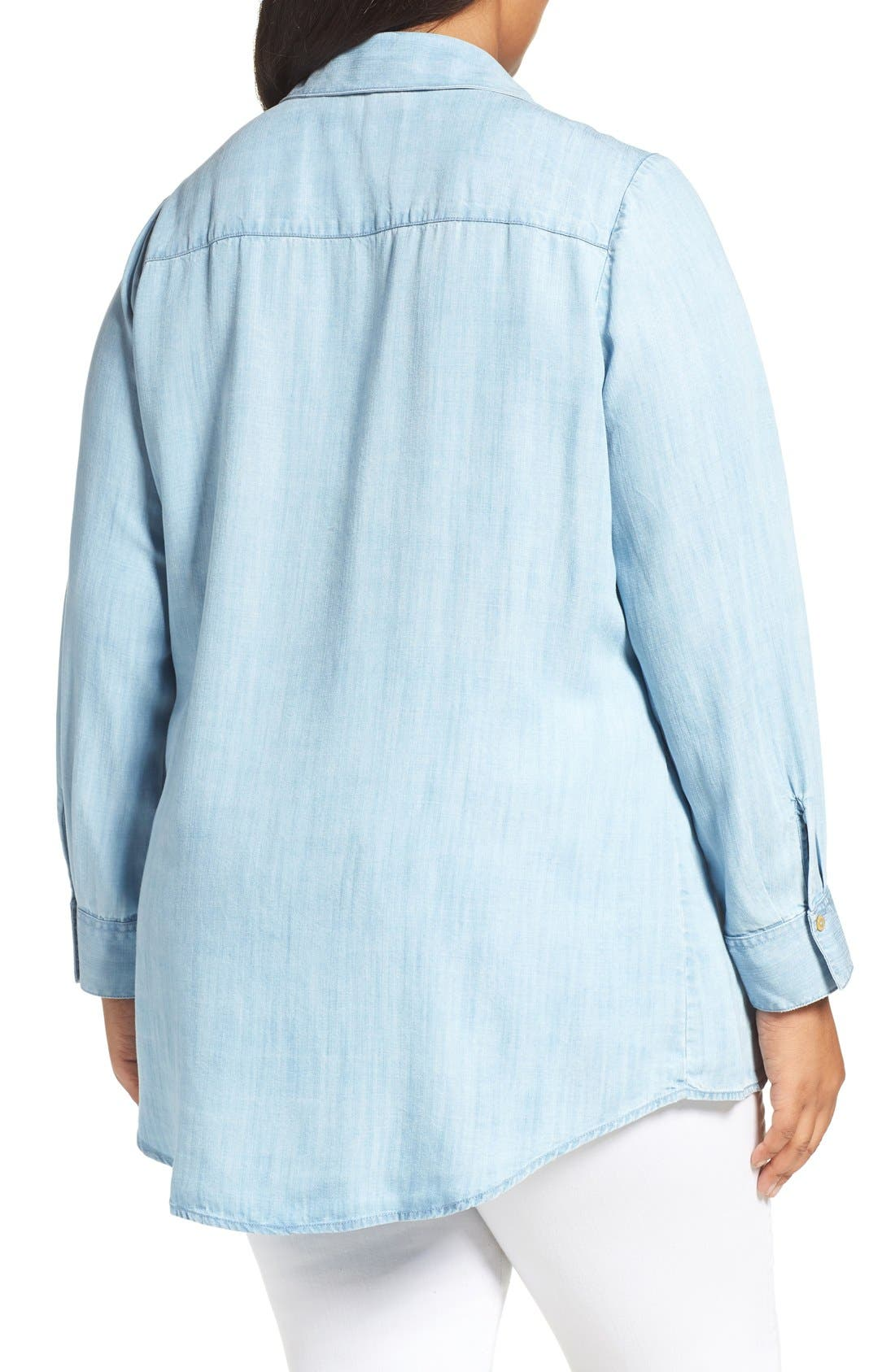 Chambray Tunic,                             Alternate thumbnail 20, color,