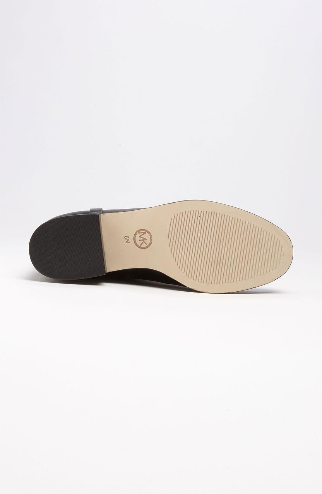MICHAEL MICHAEL KORS,                             'Fulton' Harness Boot,                             Alternate thumbnail 3, color,                             014