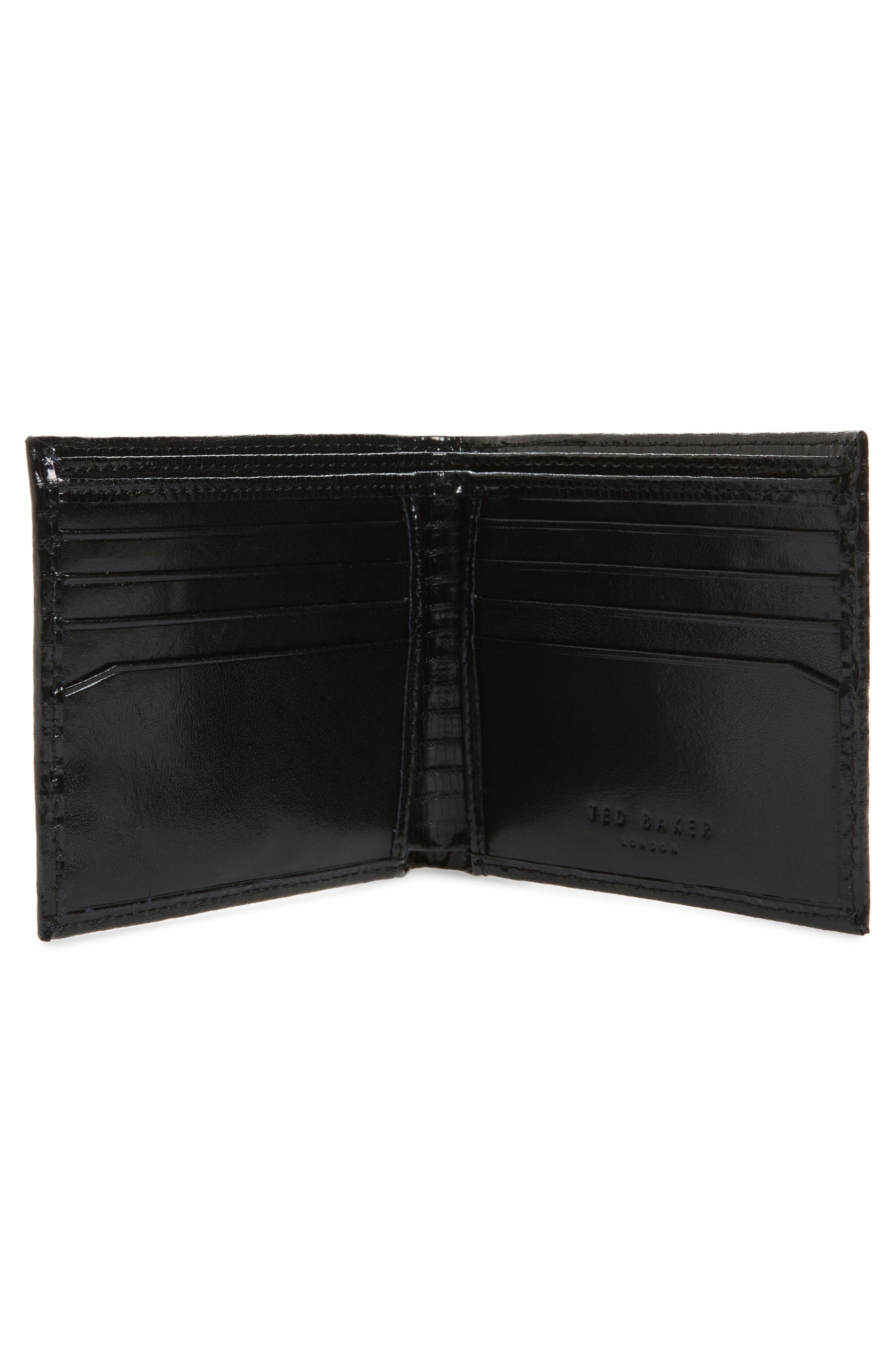 Slayts Leather Wallet,                             Alternate thumbnail 2, color,                             001