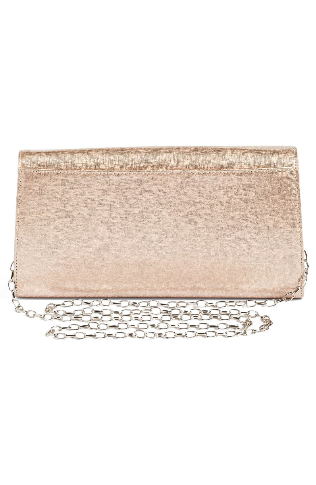Leather Clutch,                             Alternate thumbnail 15, color,