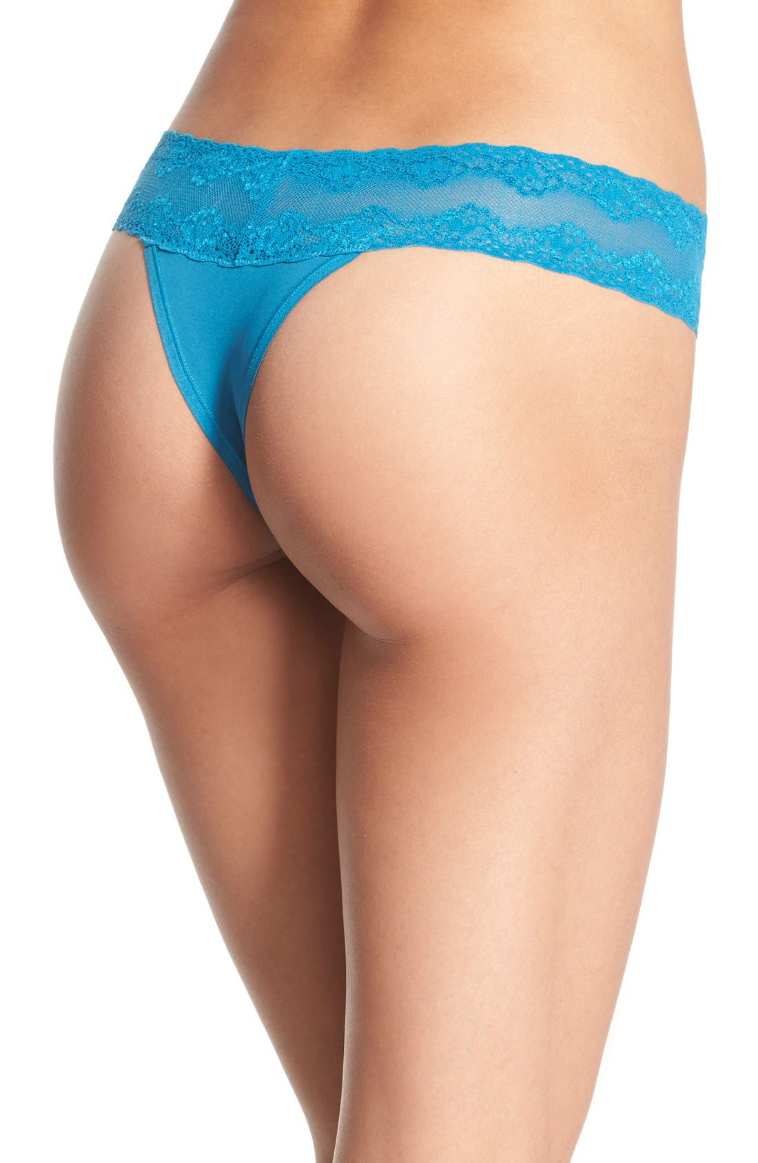 Bliss Perfection Thong,                             Alternate thumbnail 168, color,