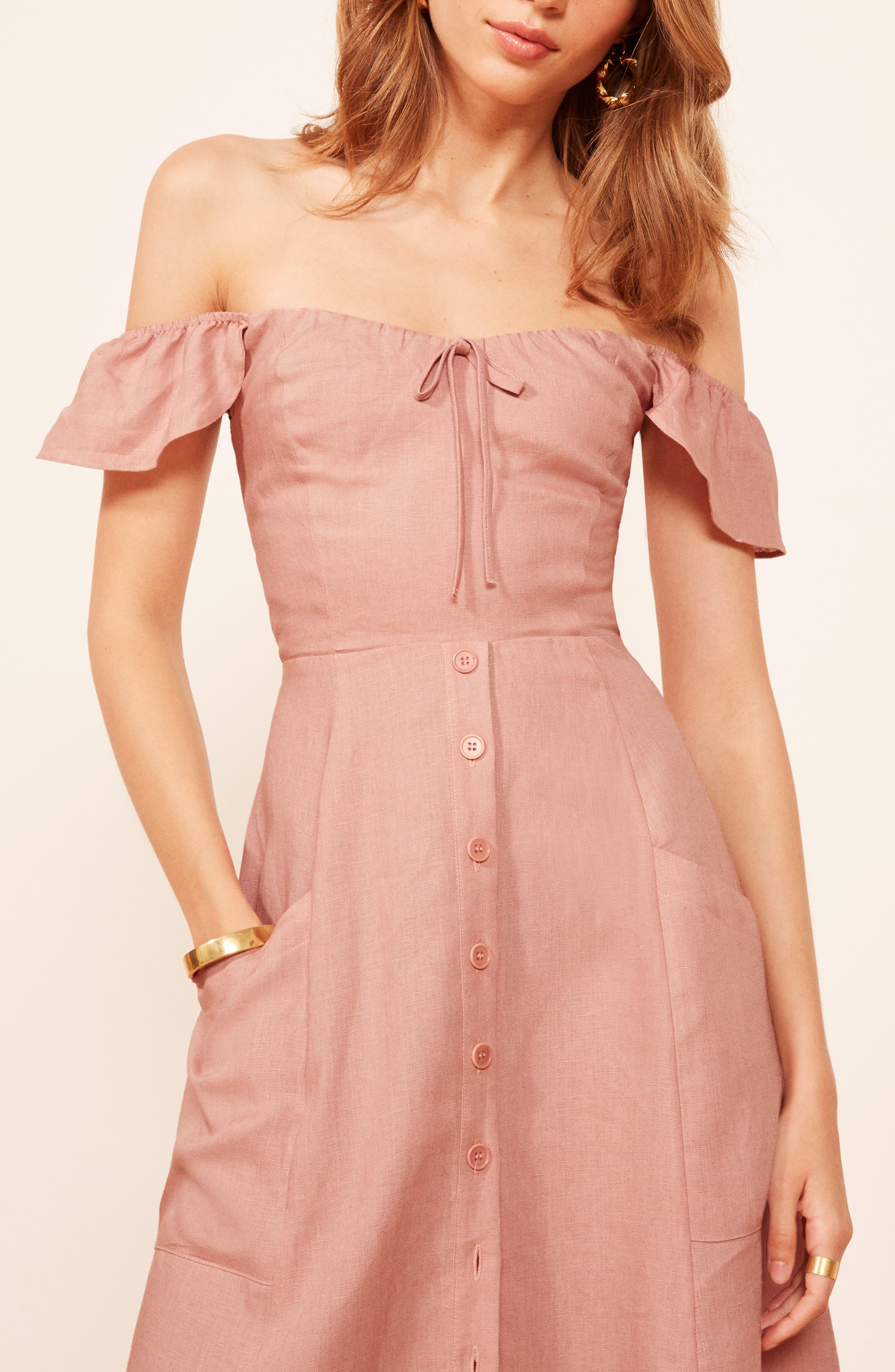 Francis Prairie A-Line Dress,                             Alternate thumbnail 4, color,                             650