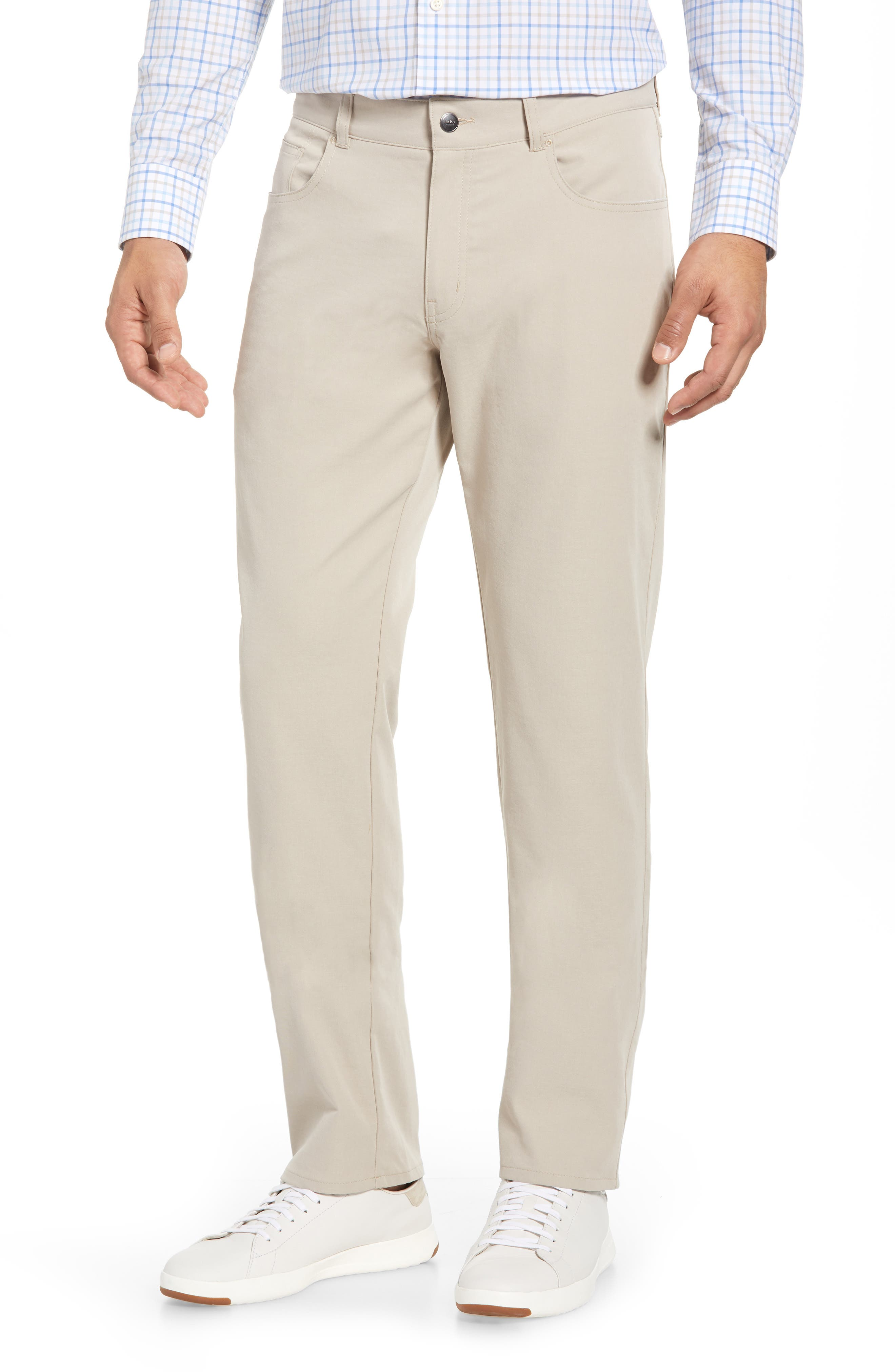 eb66 Regular Fit Performance Pants,                             Main thumbnail 1, color,                             BEIGE
