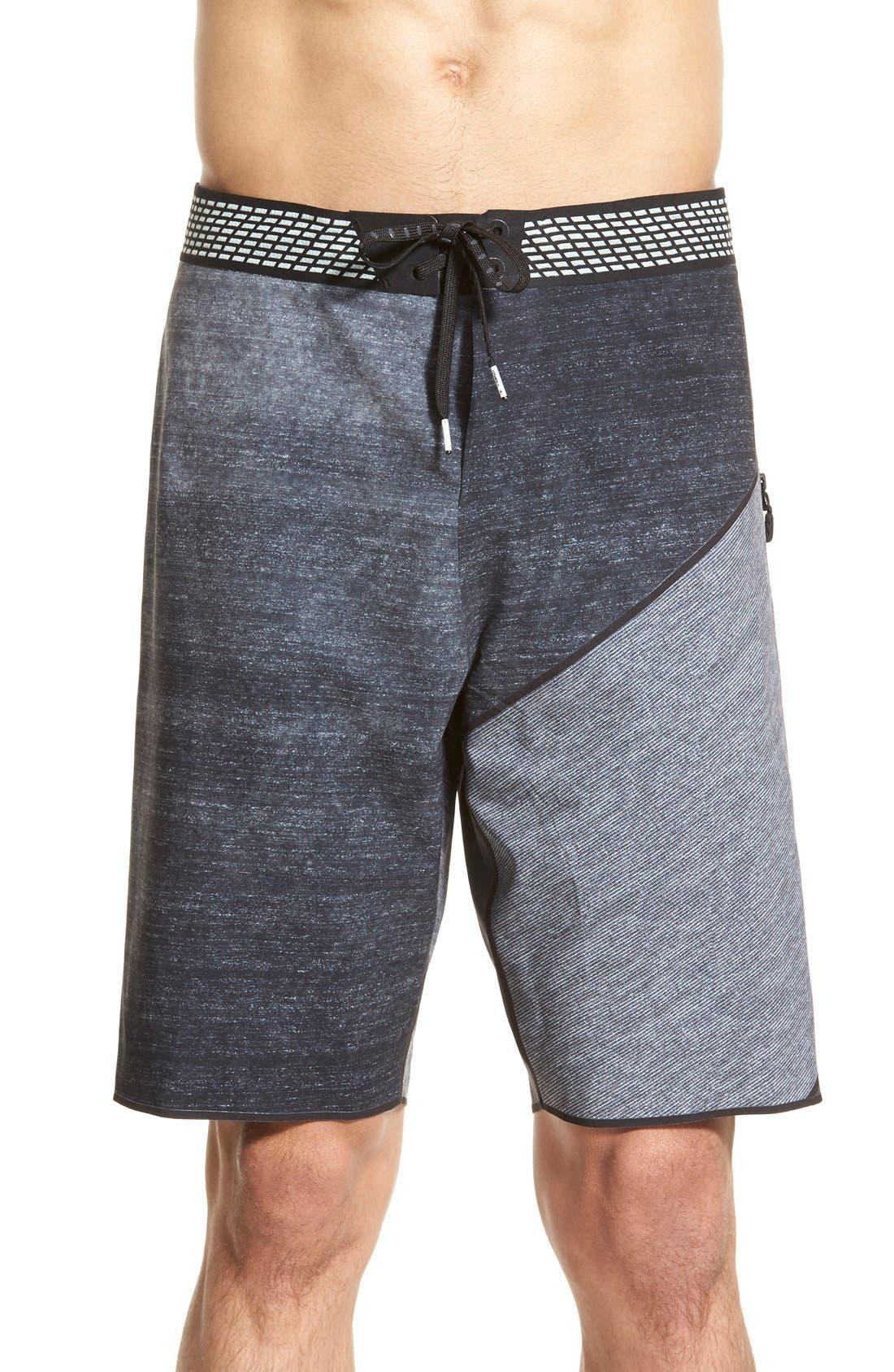 'Hyperfreak Hydro' High Performance Board Shorts, Main, color, 001