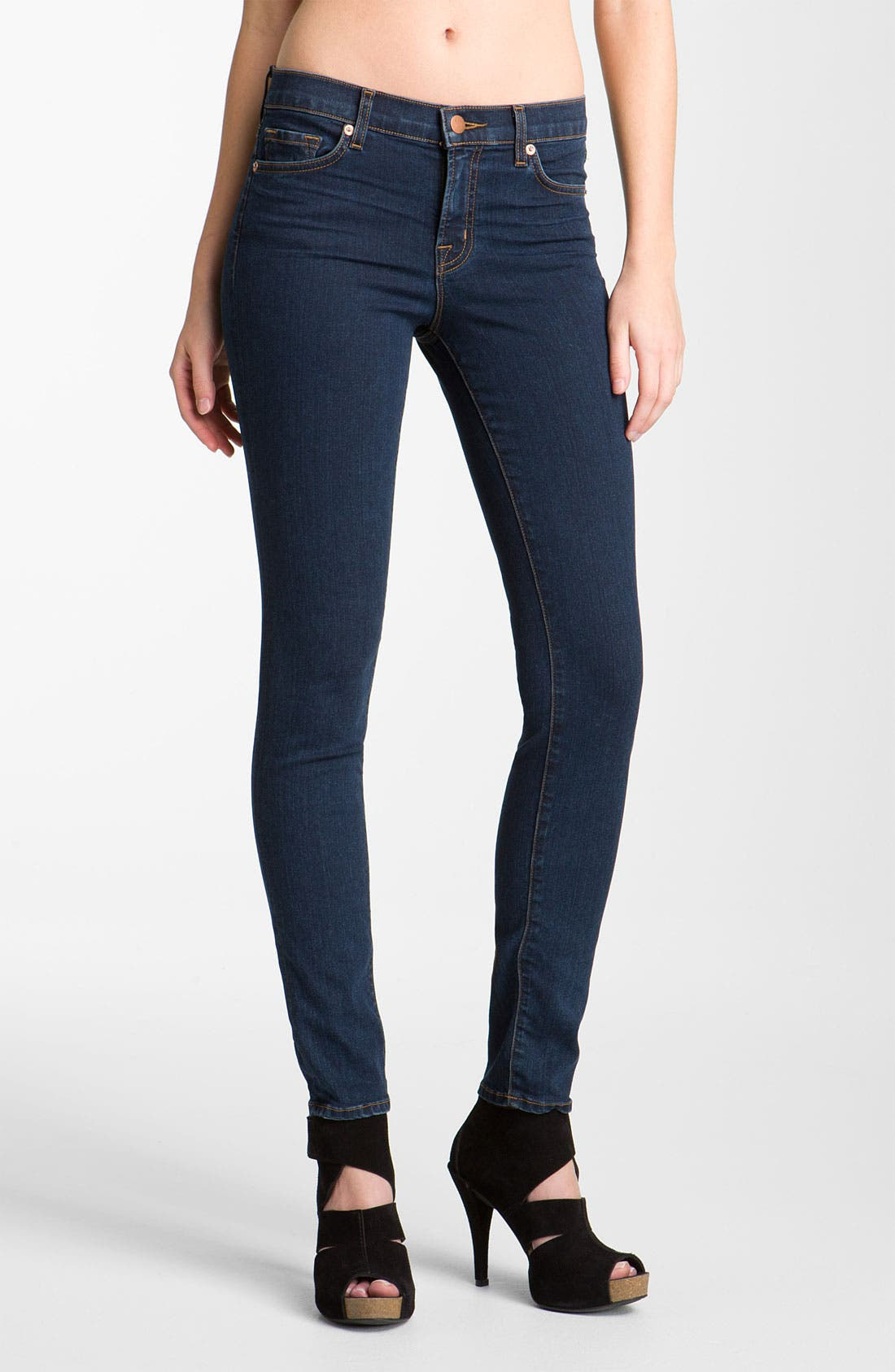 '811' Ankle Skinny Jeans,                             Main thumbnail 2, color,