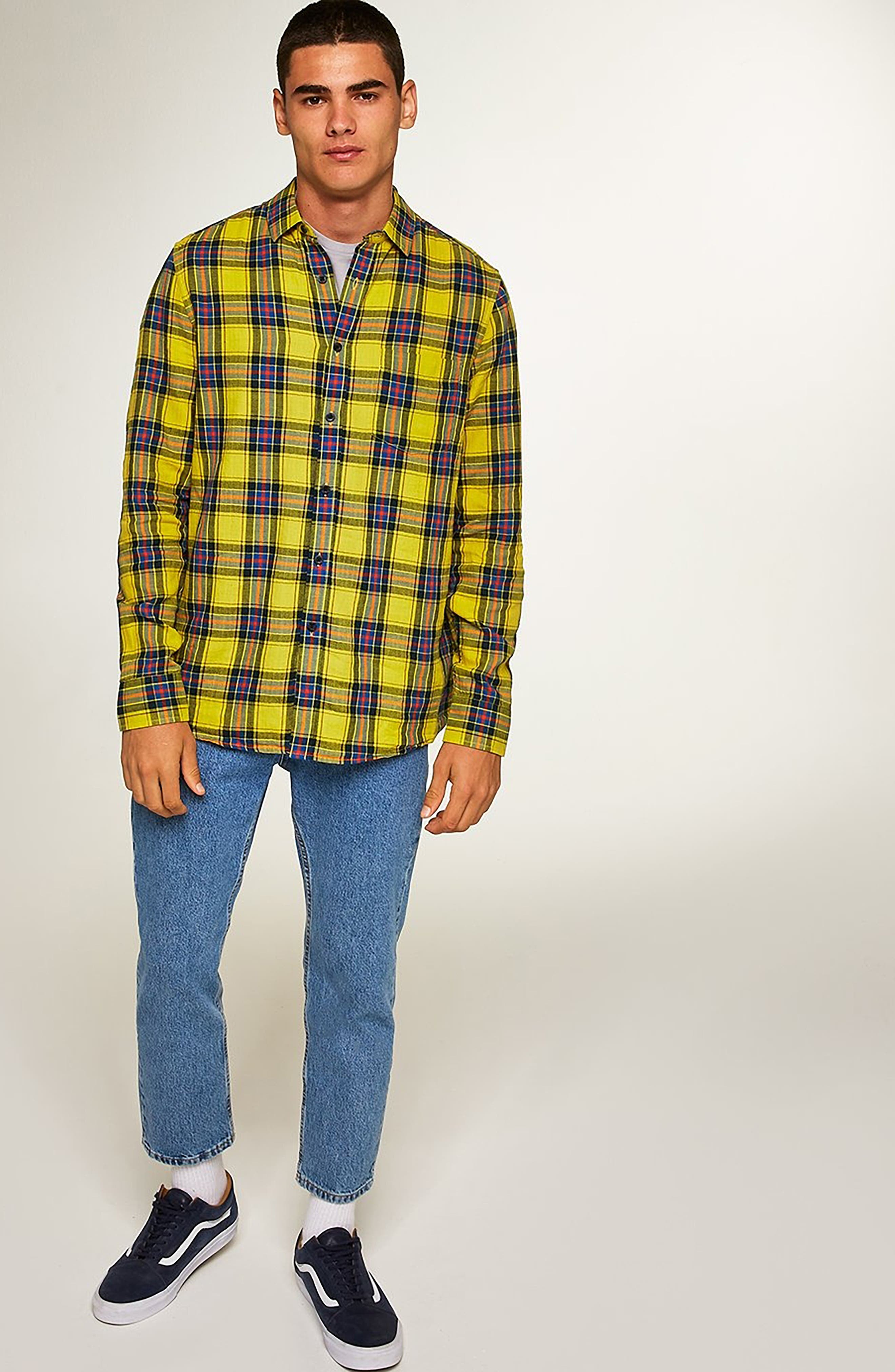 Check Shirt,                             Alternate thumbnail 5, color,                             700