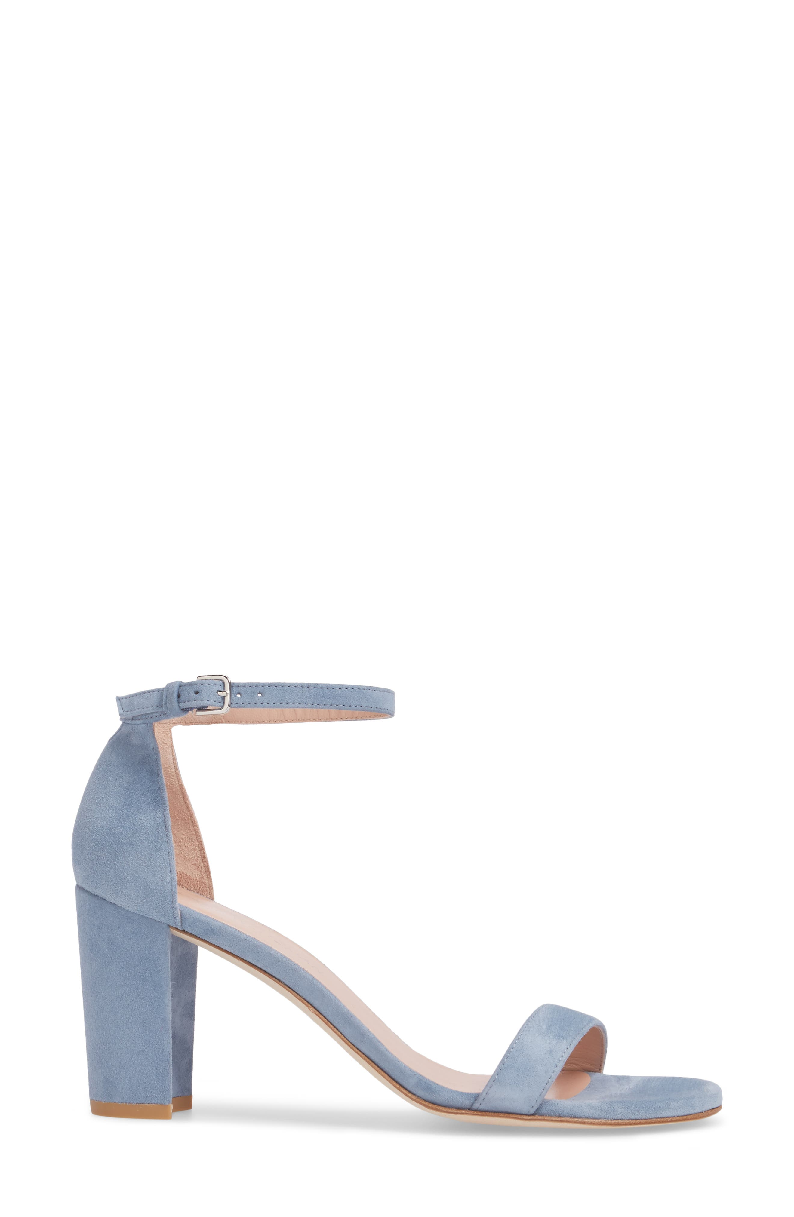 NearlyNude Ankle Strap Sandal,                             Alternate thumbnail 60, color,