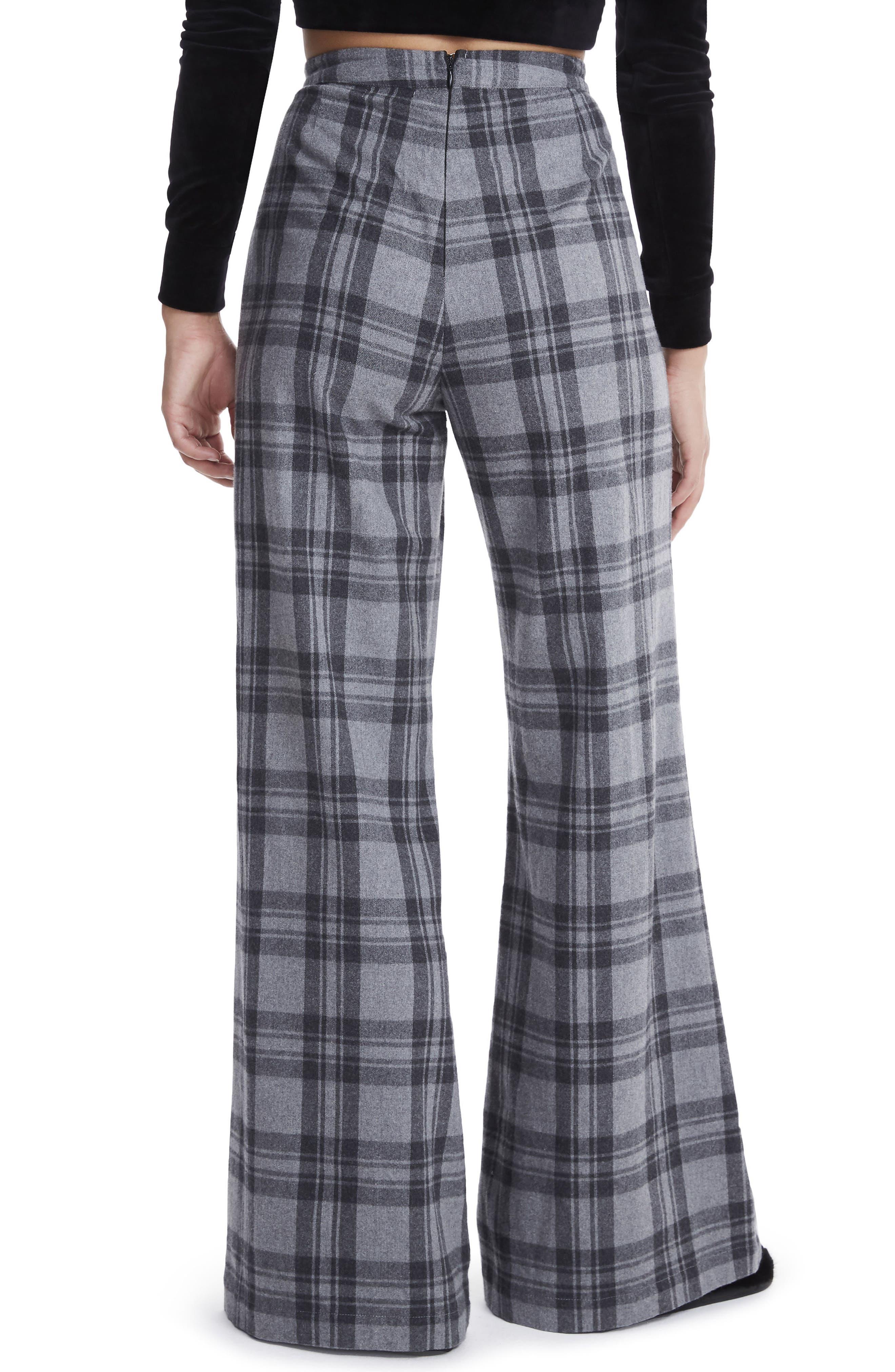 Carter High Waist Wide Leg Pants,                             Alternate thumbnail 2, color,