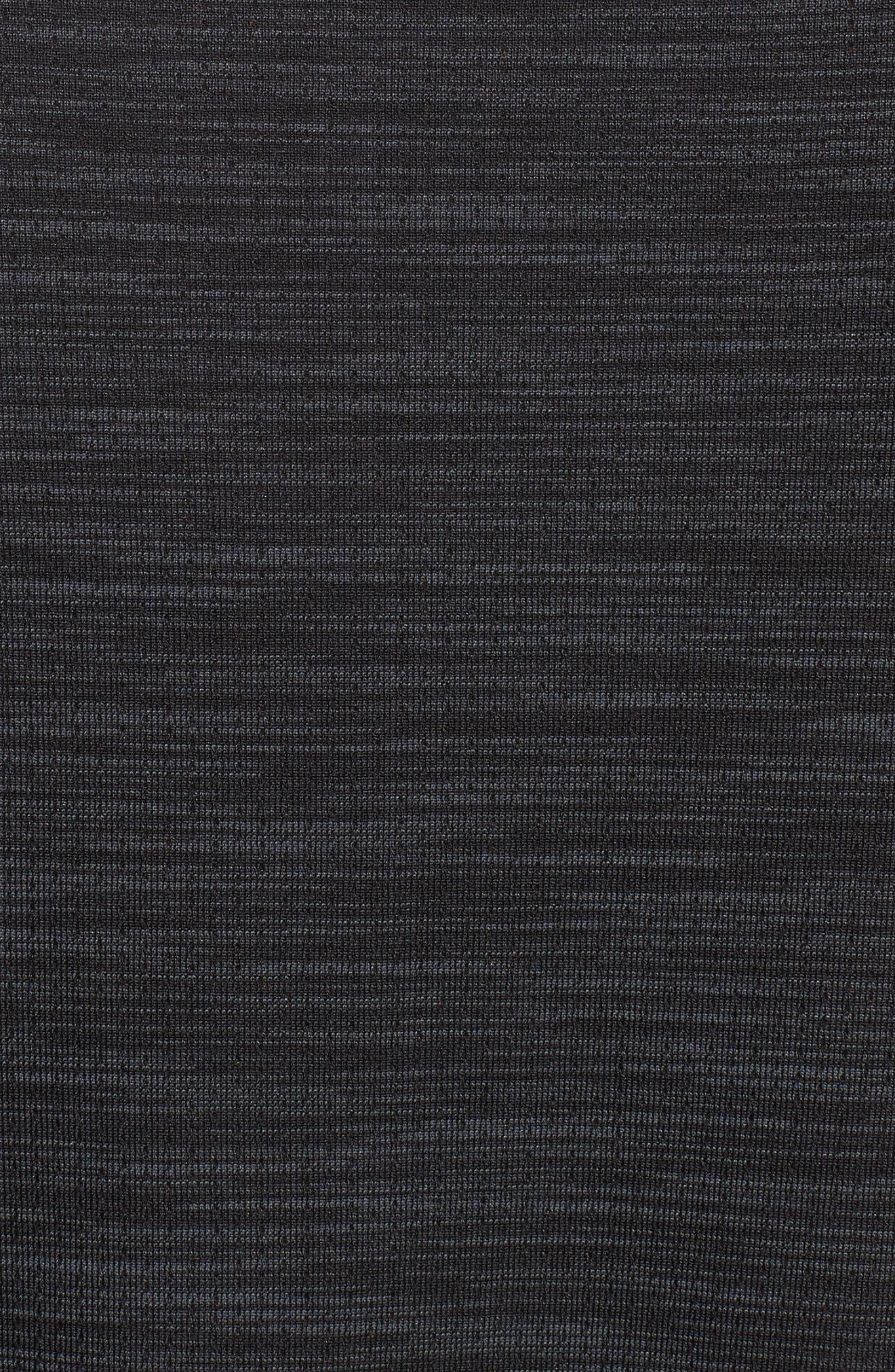 Siphon Performance T-Shirt,                             Alternate thumbnail 5, color,                             BLACK