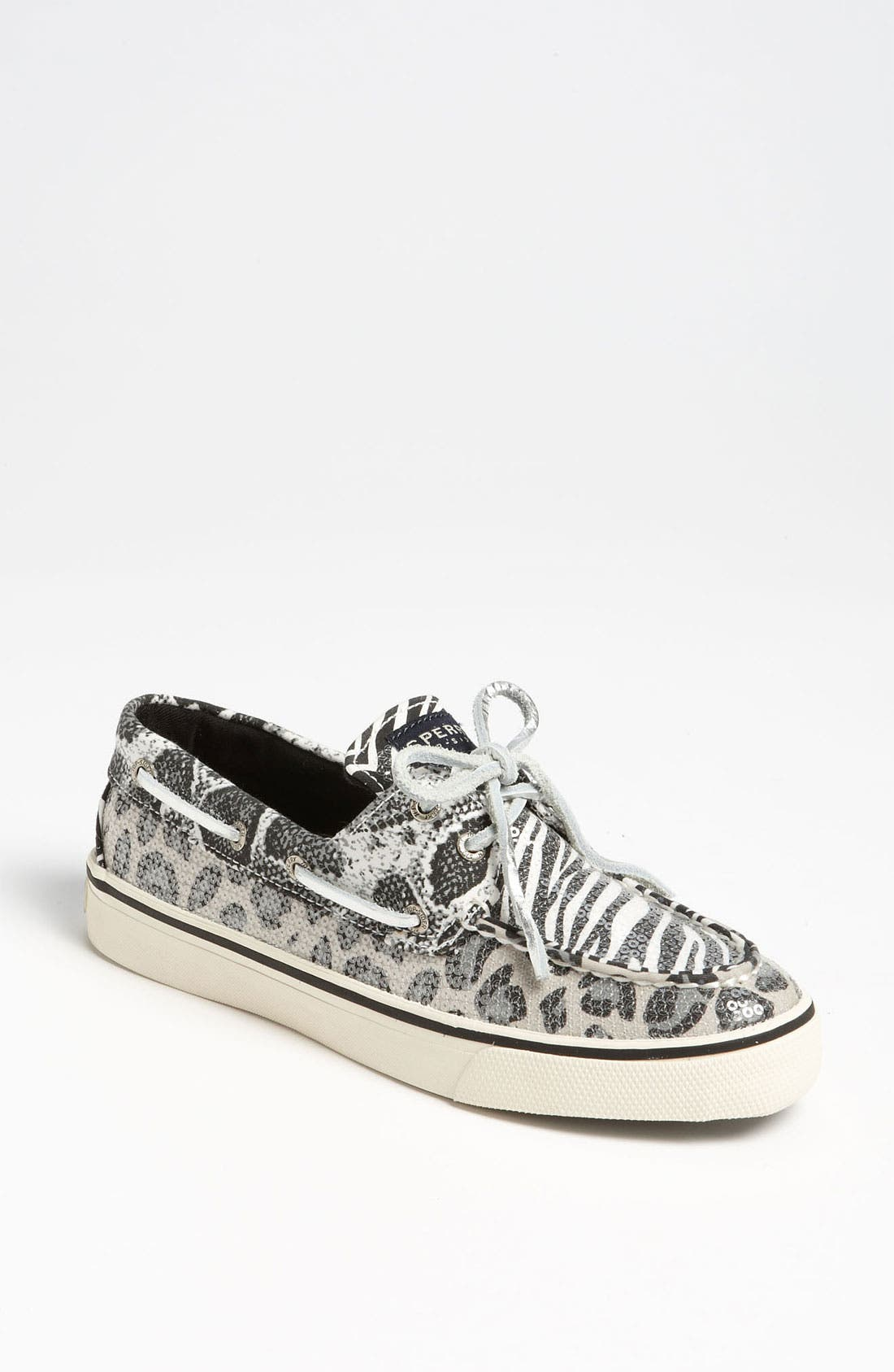 Top-Sider<sup>®</sup> 'Bahama' Sequined Boat Shoe,                             Main thumbnail 8, color,
