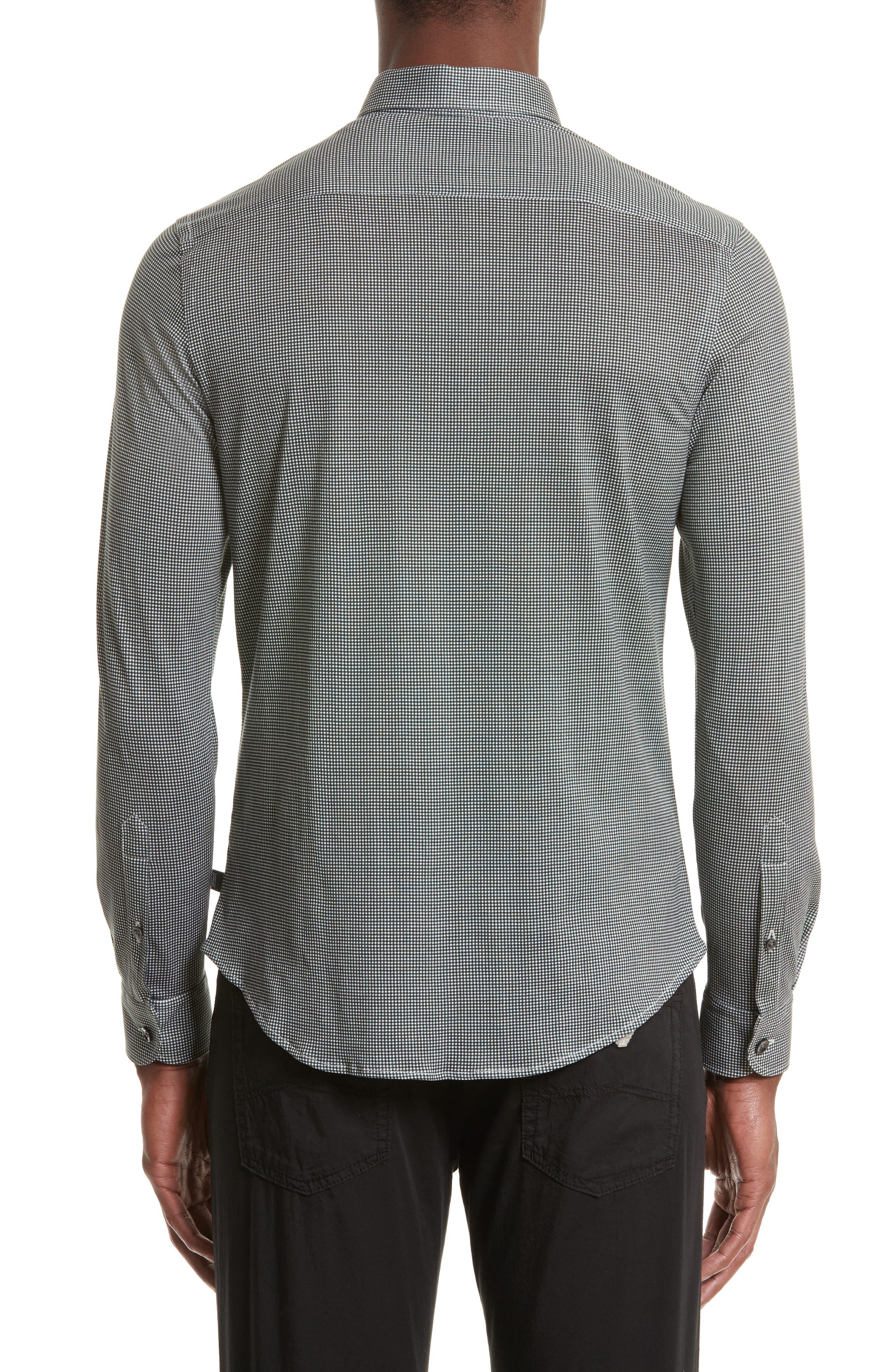 Gingham Sport Shirt,                             Alternate thumbnail 2, color,                             389