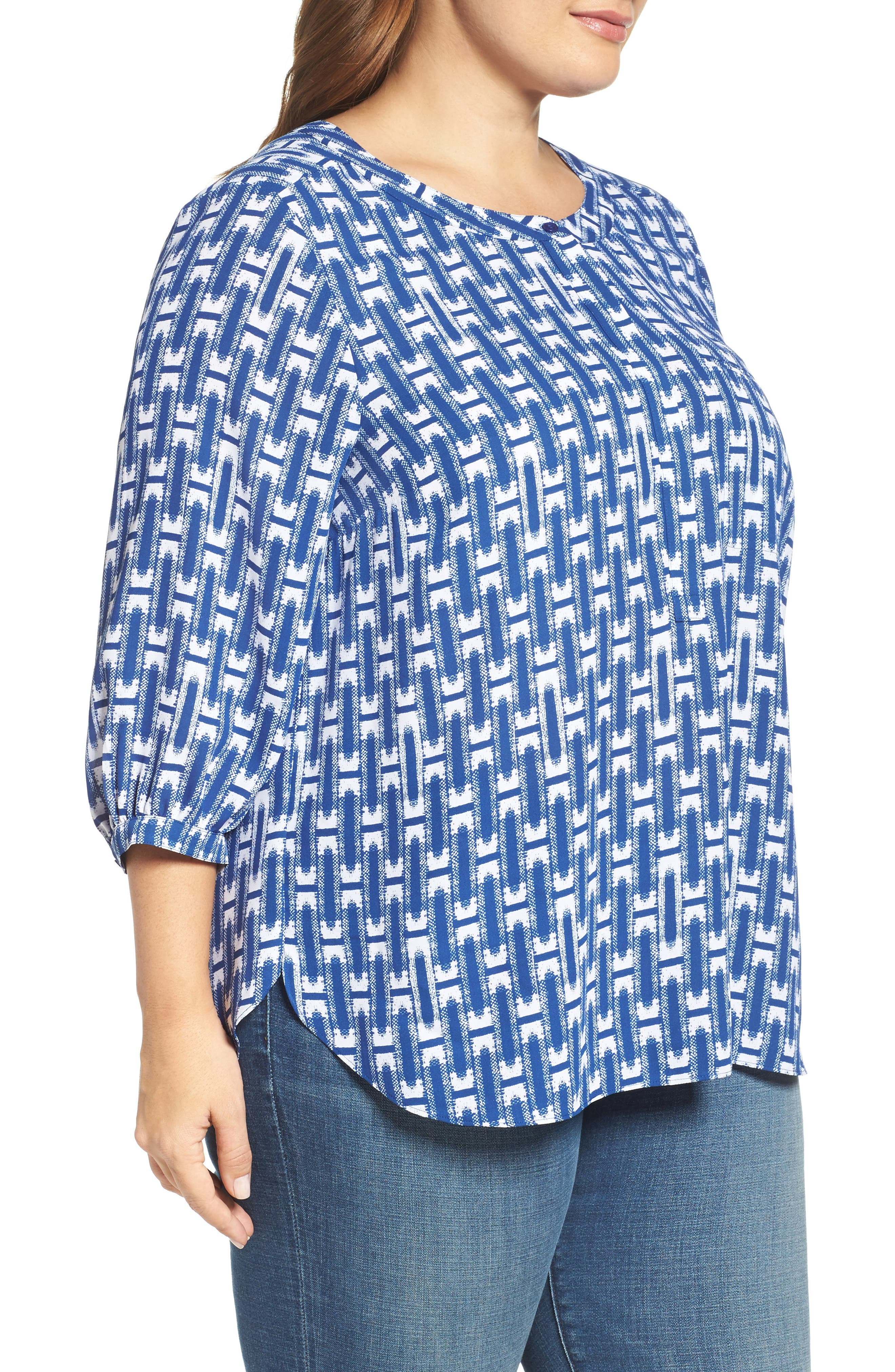 Henley Top,                             Alternate thumbnail 308, color,