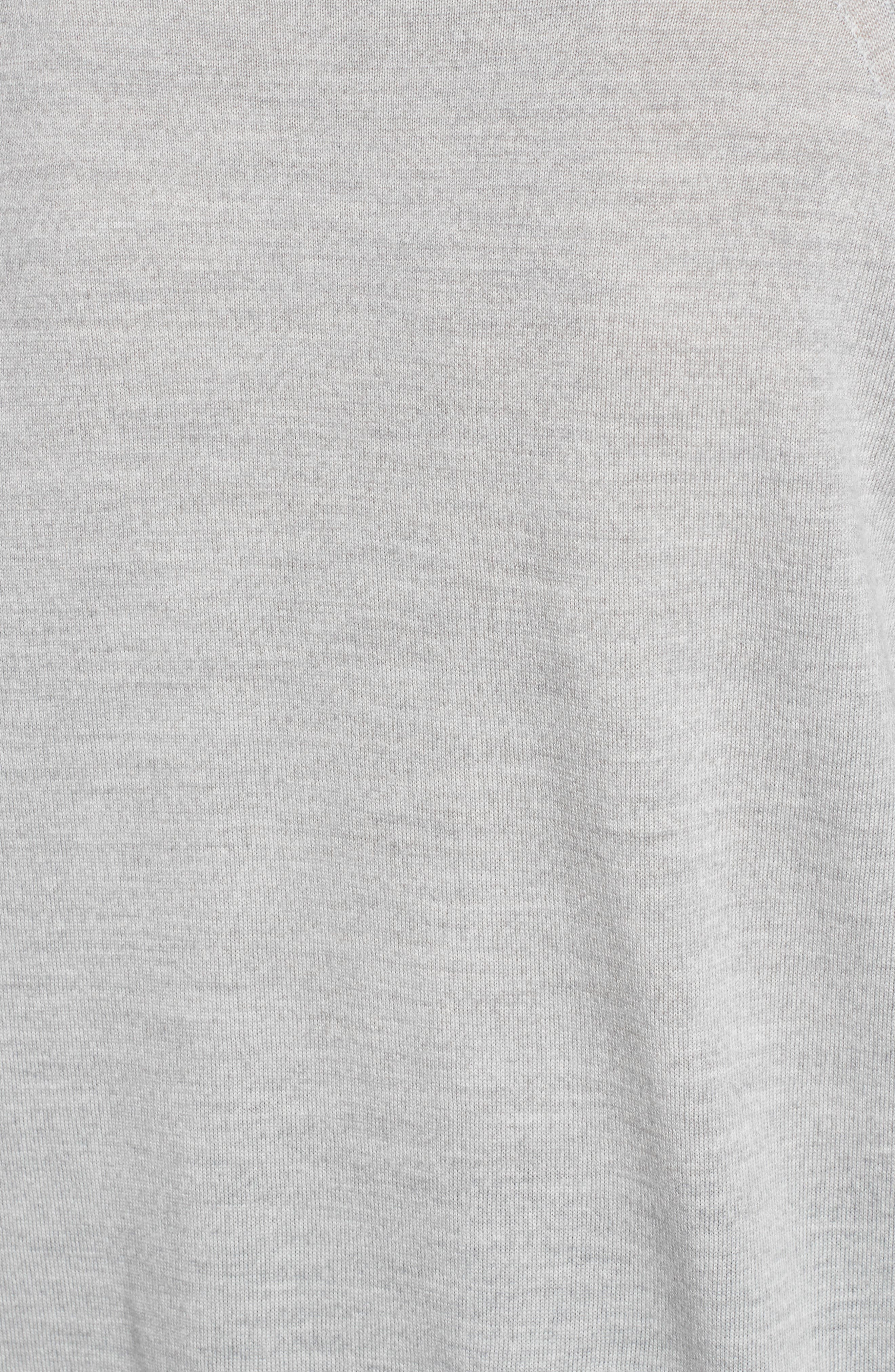 Rime Bis Merino Wool Sweater,                             Alternate thumbnail 5, color,                             078