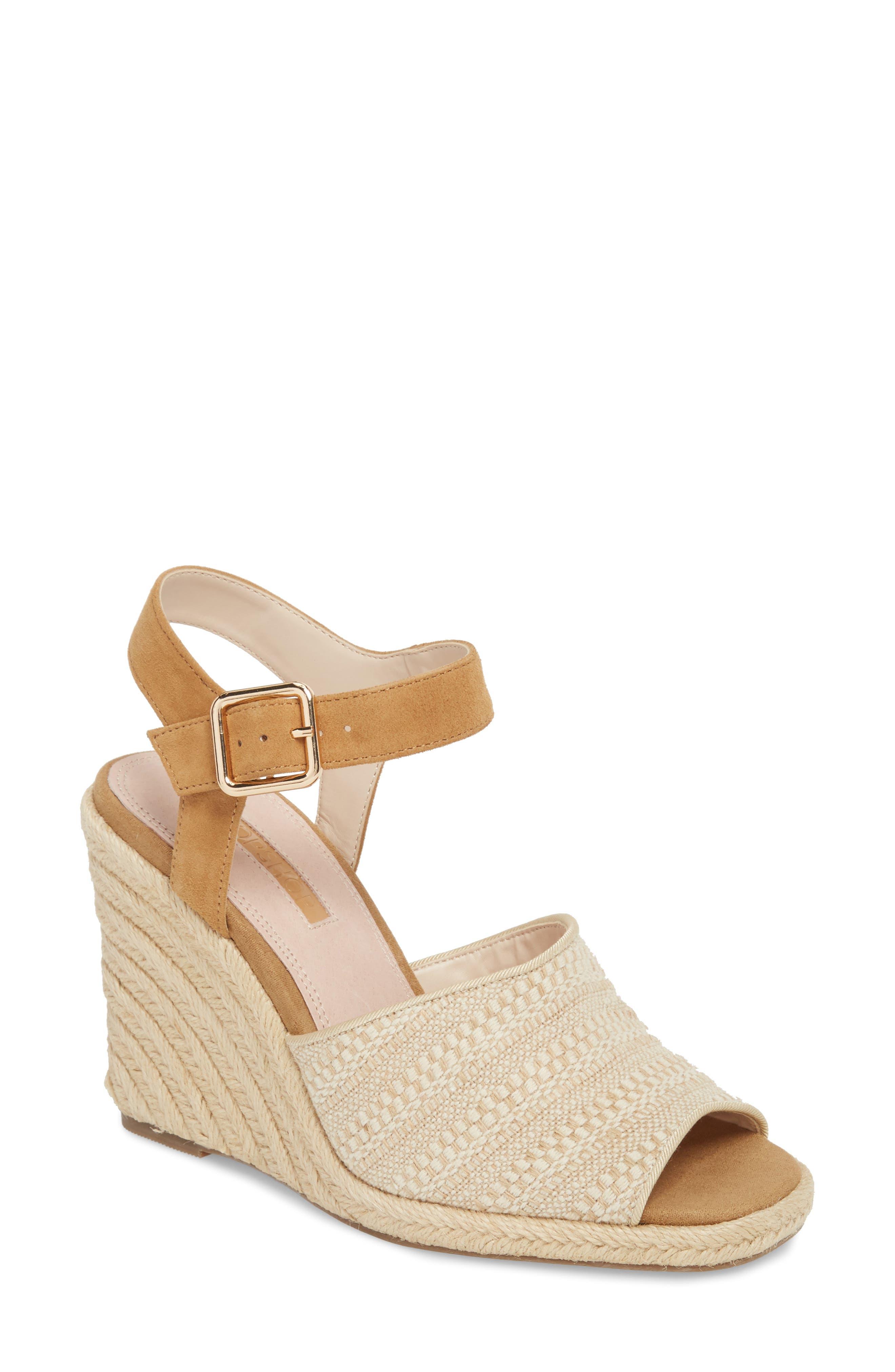 Winnie Espadrille Wedge Sandal,                         Main,                         color, 250