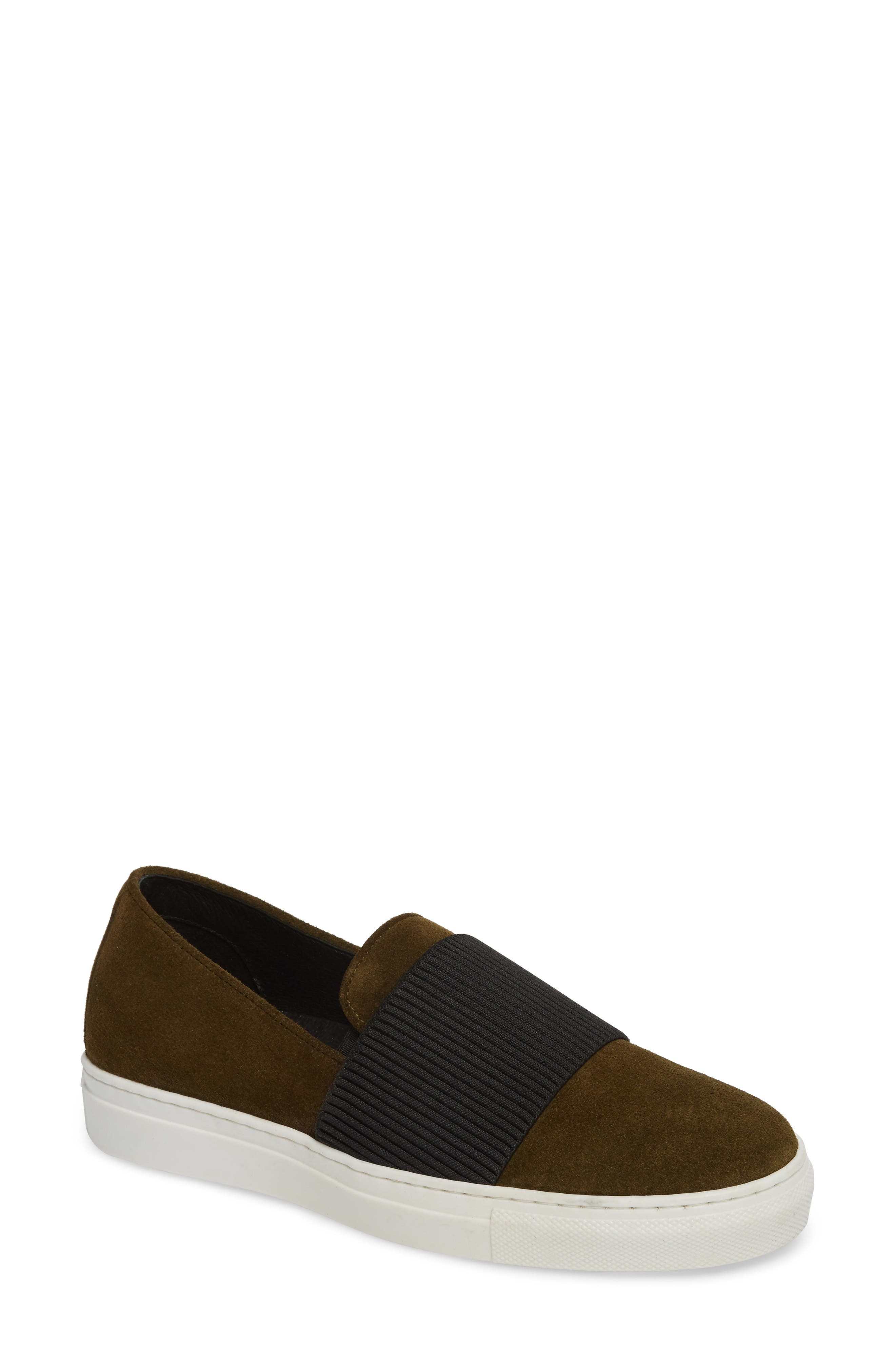 Otto Slip-On Sneaker,                             Main thumbnail 1, color,                             MILITARY PRINT SUEDE