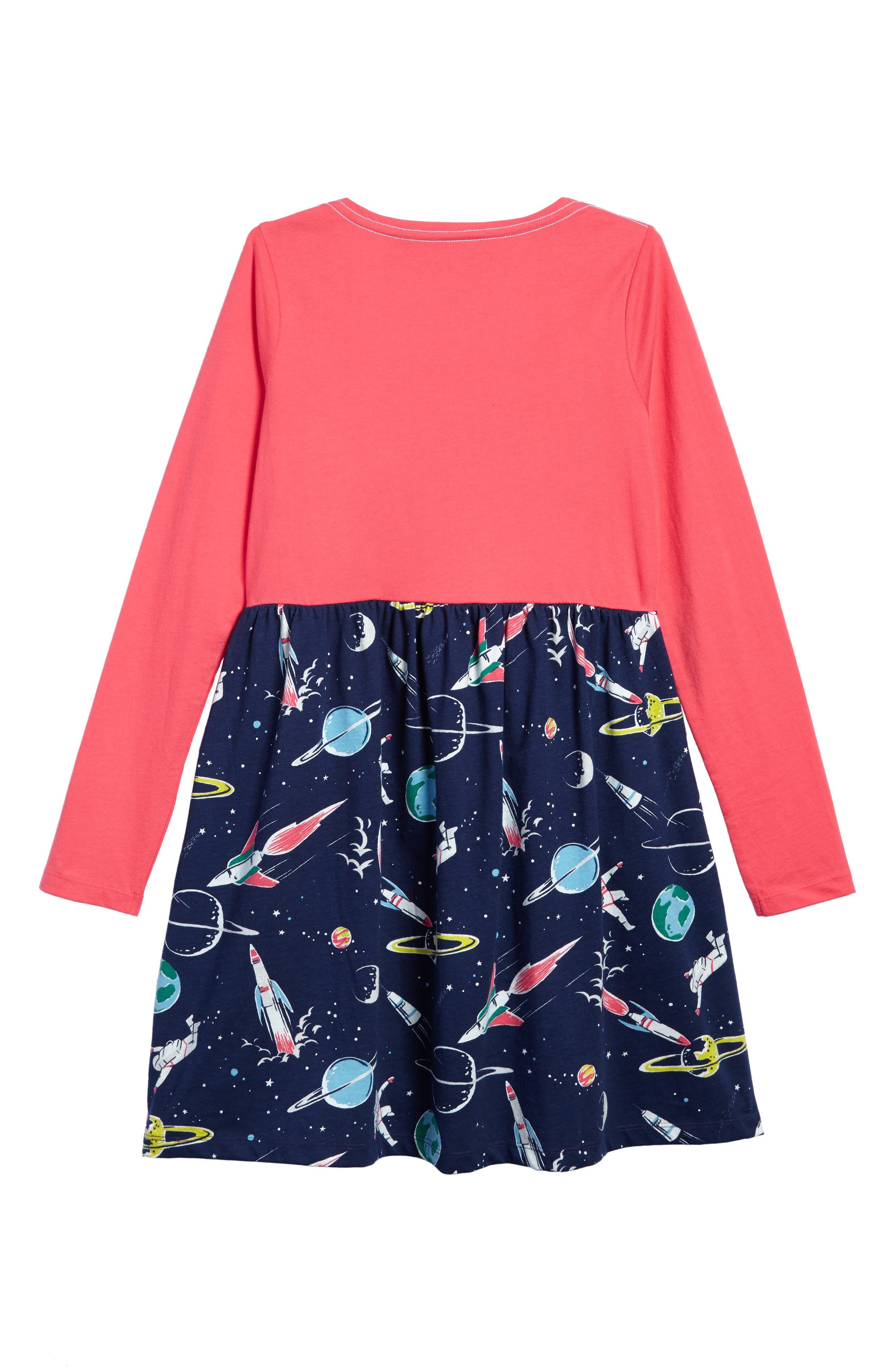 Hotchpotch Jersey Dress,                             Alternate thumbnail 7, color,