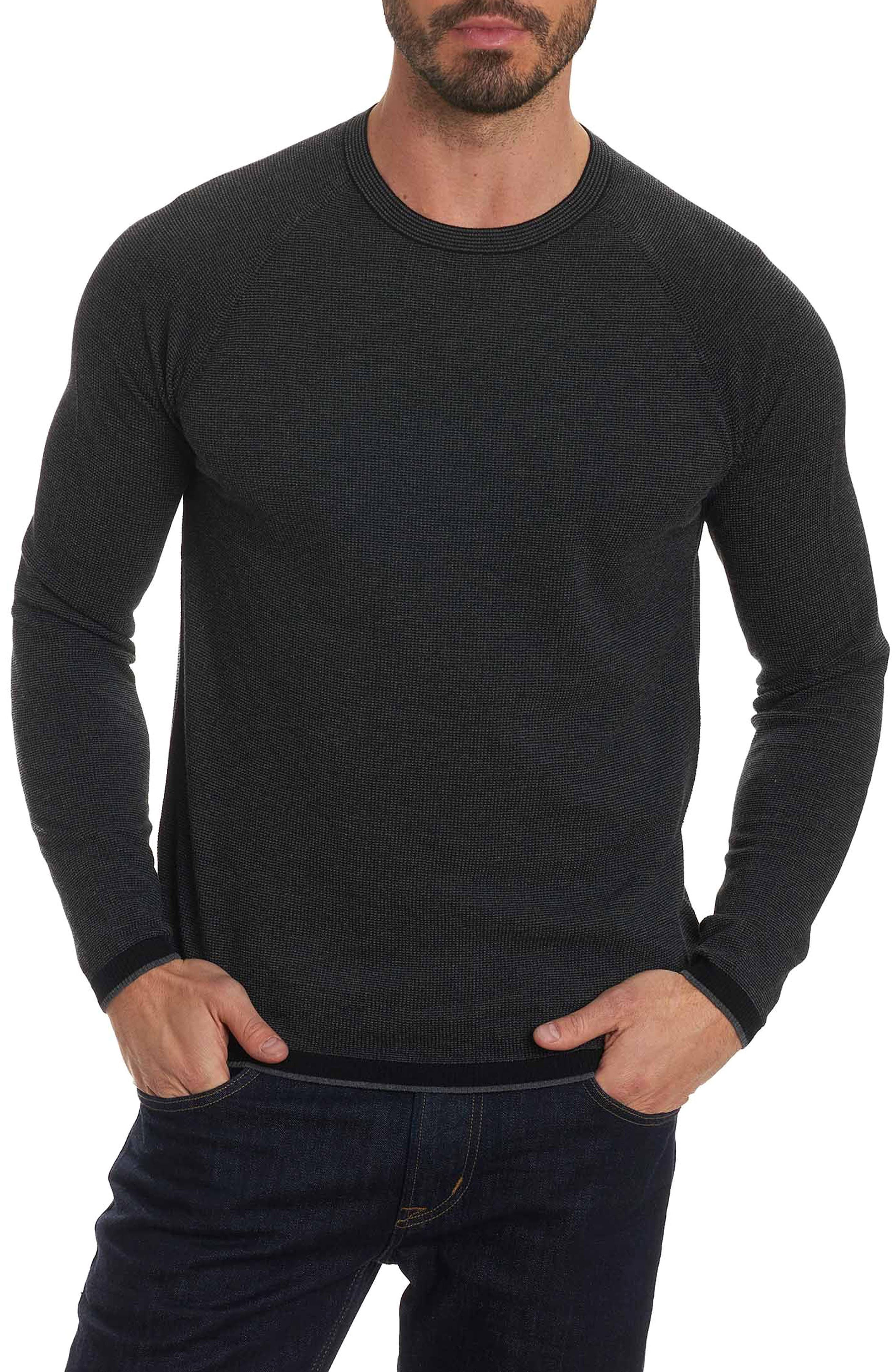 Ray Brook Wool Blend Sweater,                             Main thumbnail 1, color,                             001