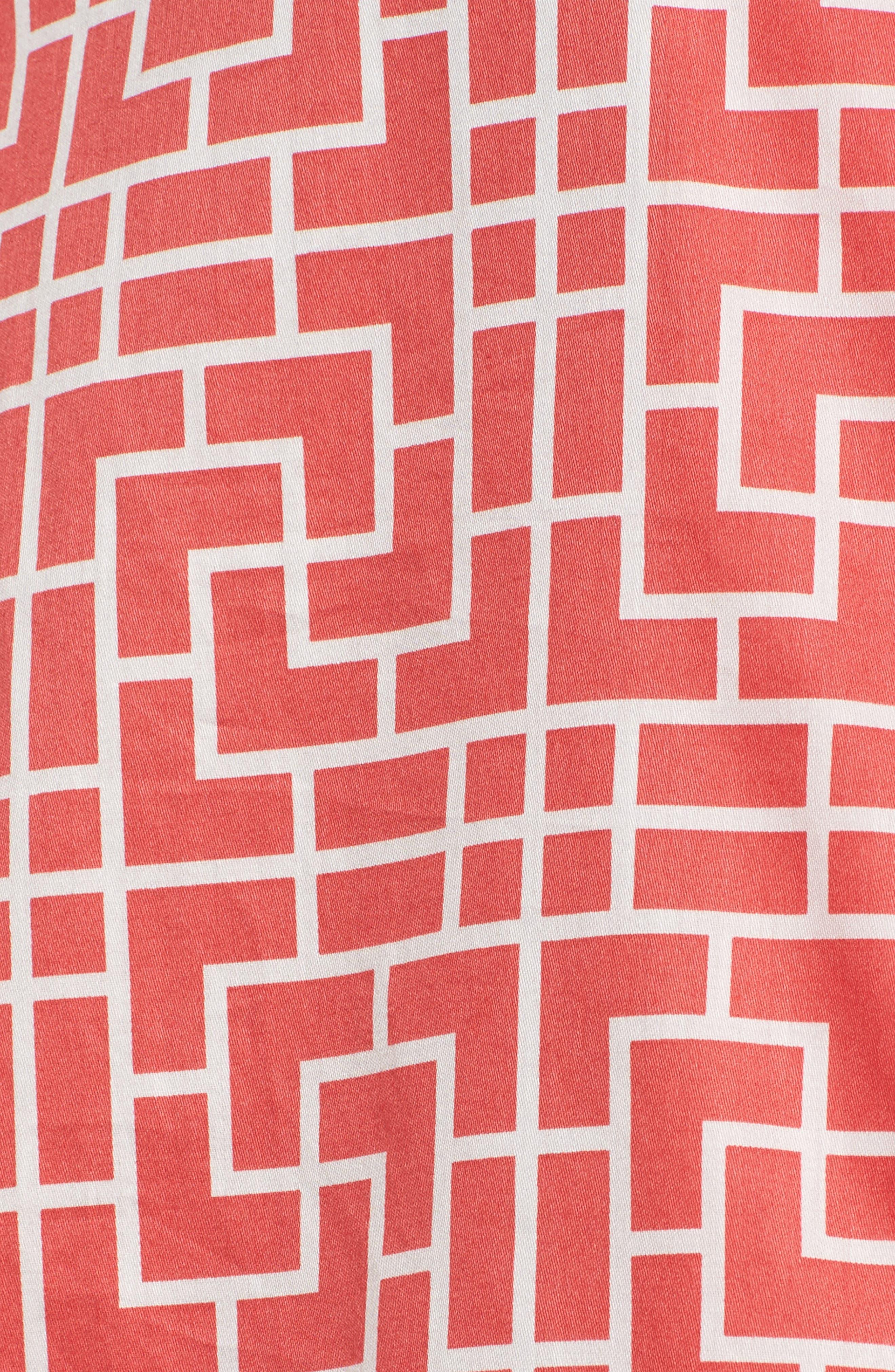 Abstract Maze Sateen Pajamas,                             Alternate thumbnail 10, color,