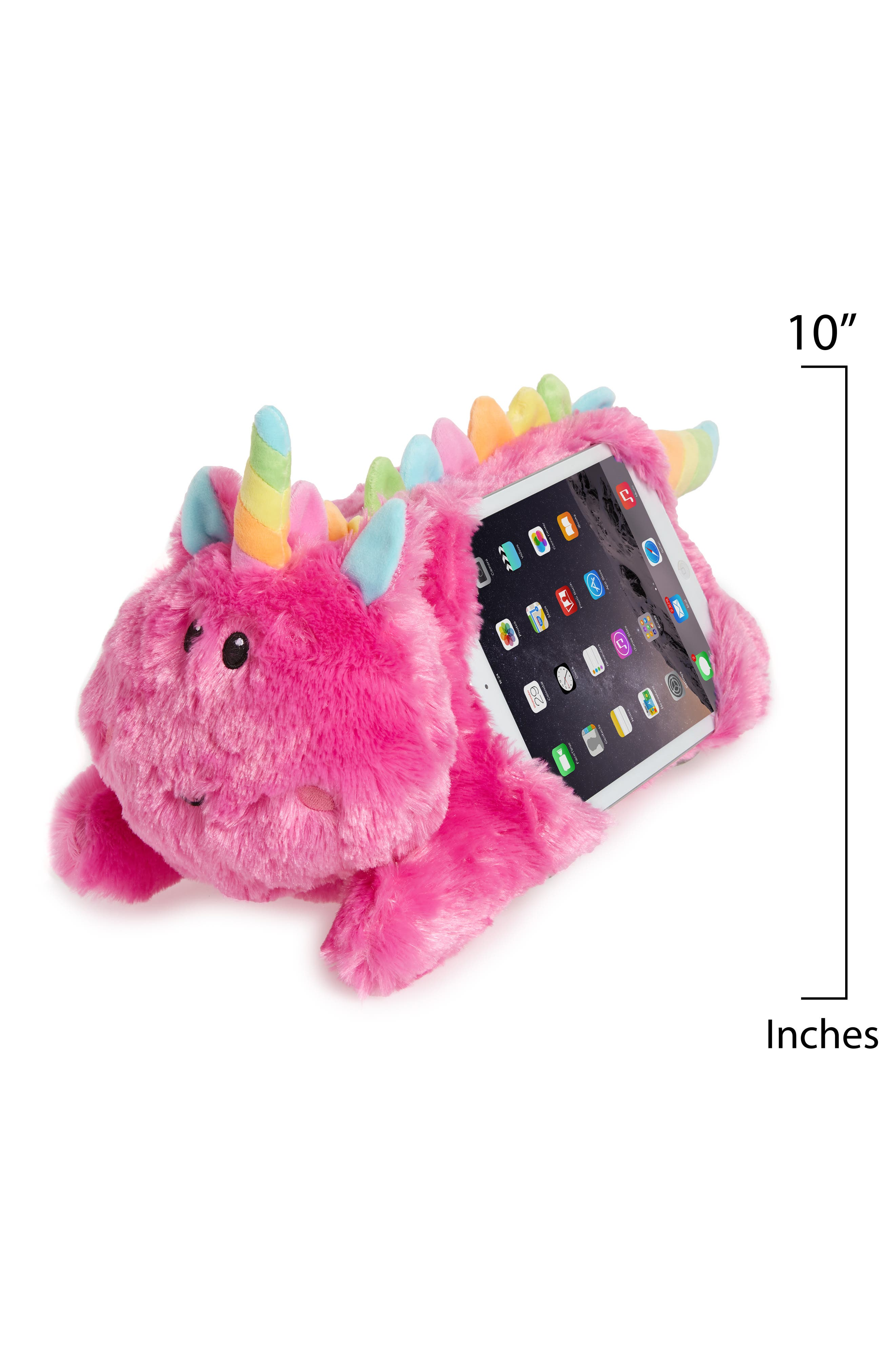 Unicorn Tablet Pillow,                             Alternate thumbnail 2, color,                             PINK