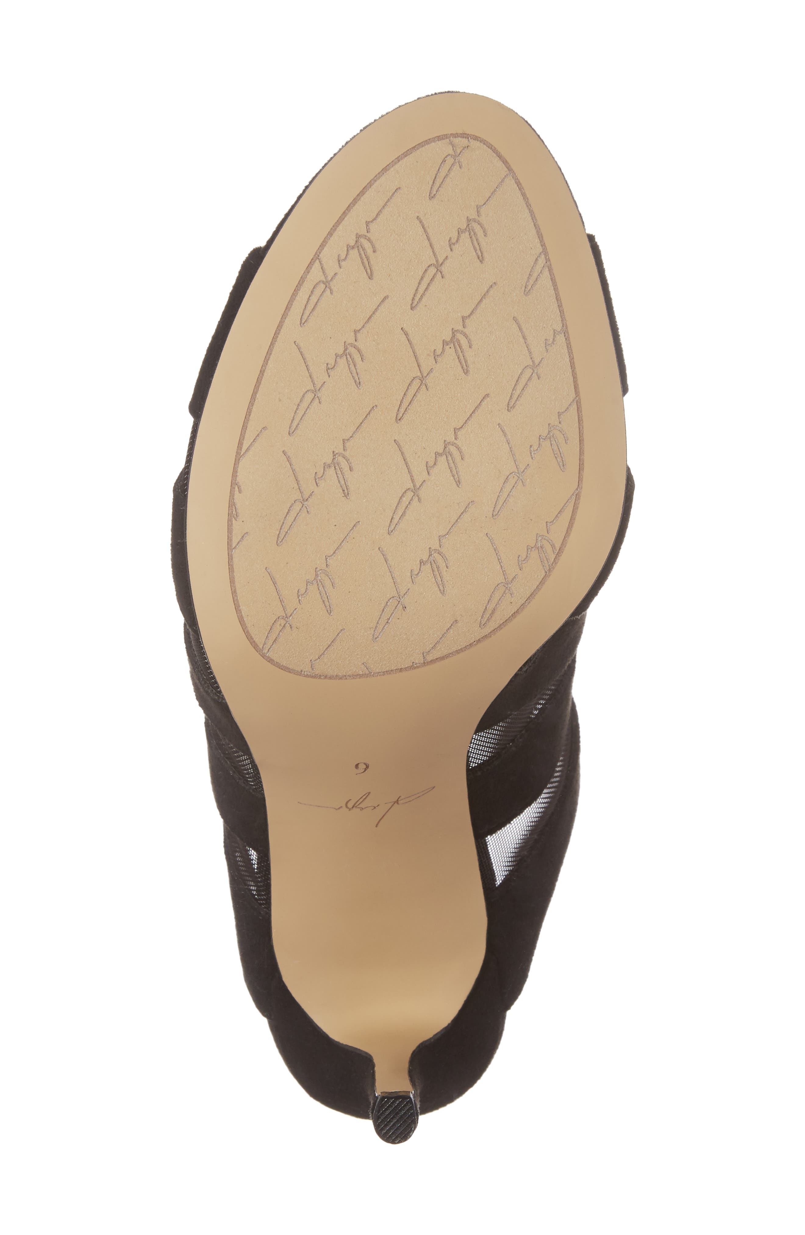 by Zendaya Norwell Cage Slide Sandal,                             Alternate thumbnail 6, color,                             005