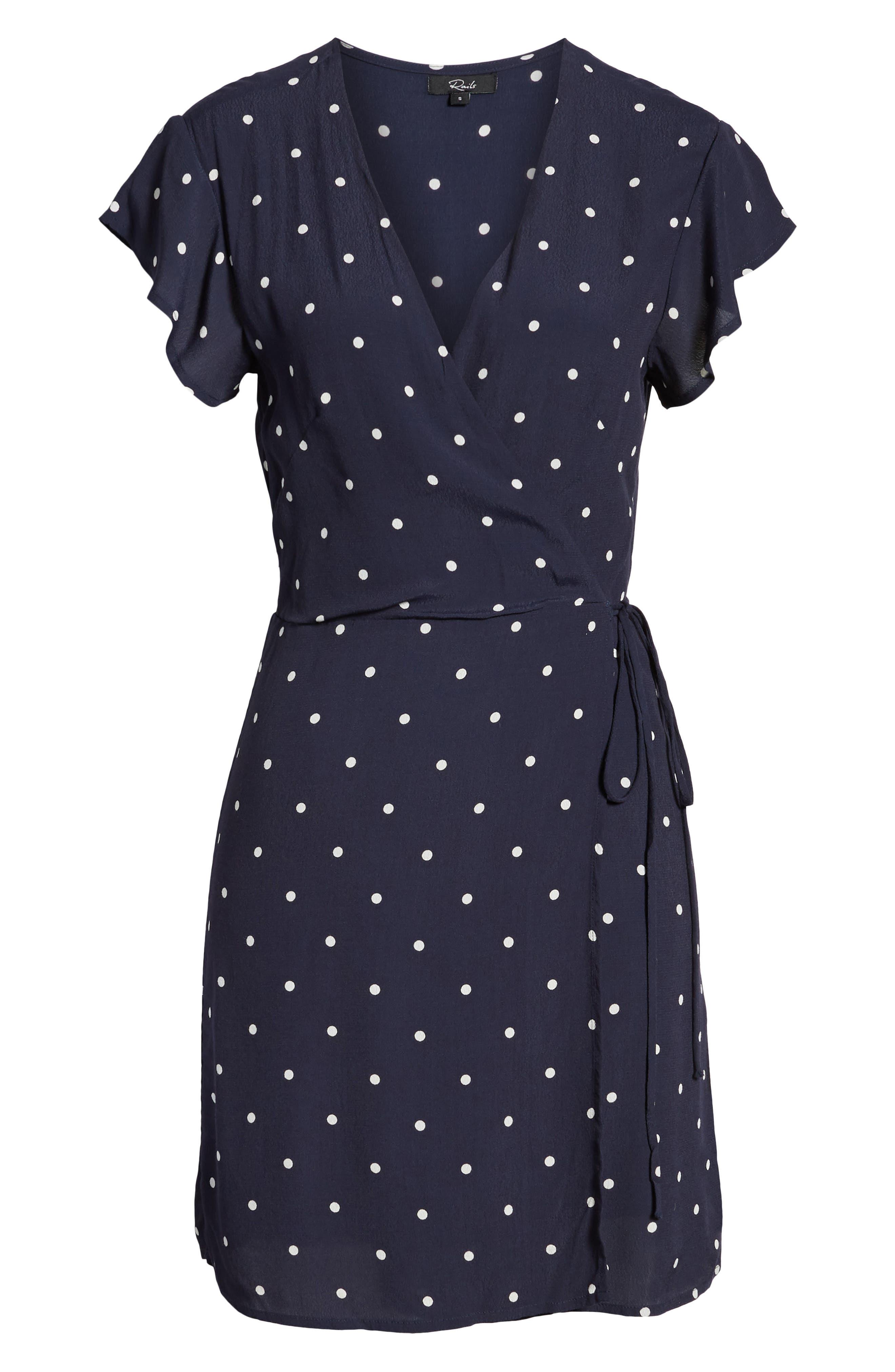 Brenna Wrap Dress,                             Alternate thumbnail 7, color,                             482