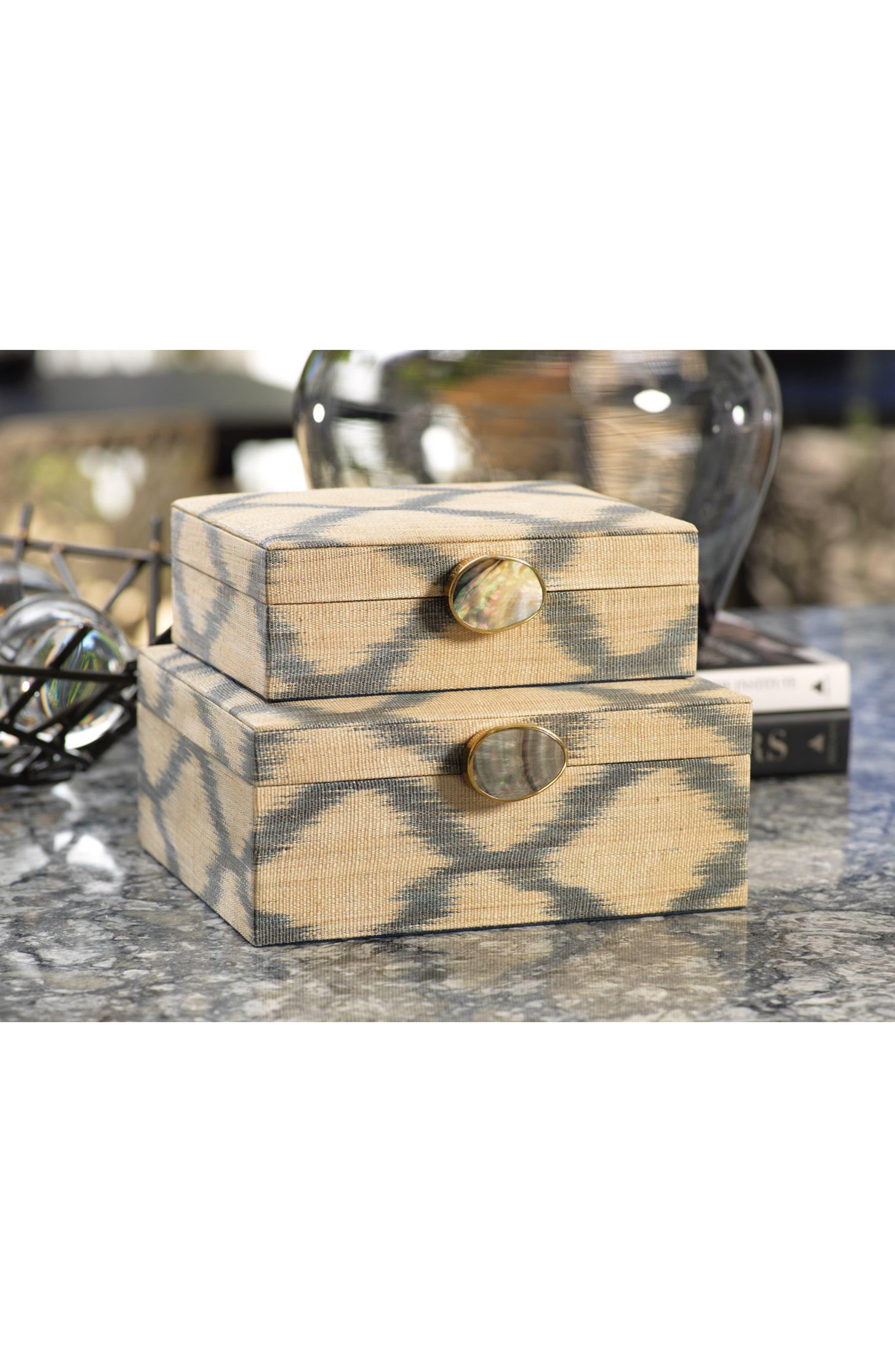 Small Ikat Storage Box,                             Alternate thumbnail 2, color,                             250