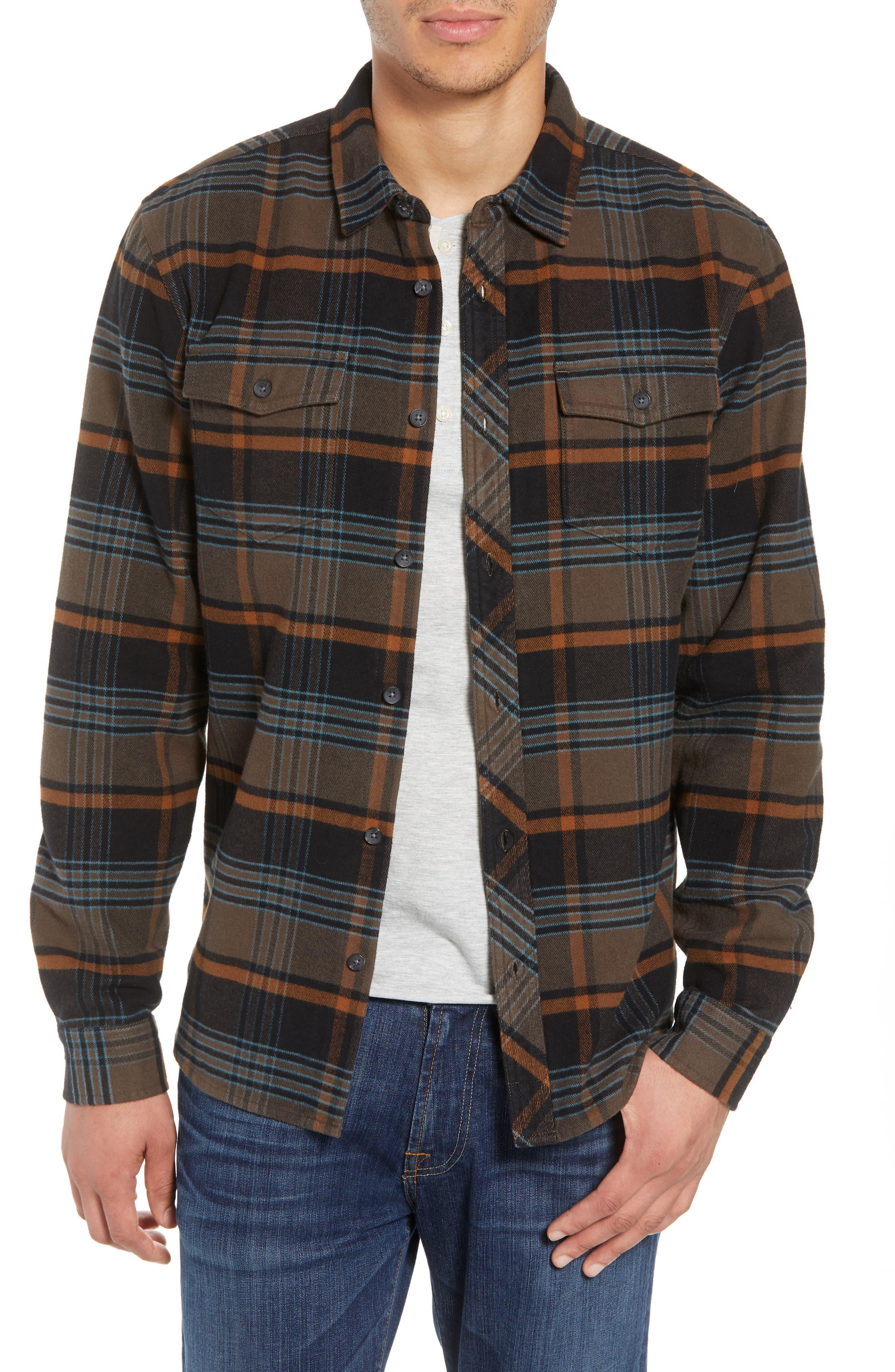 Ridgemont Flannel Shirt,                             Main thumbnail 1, color,                             216