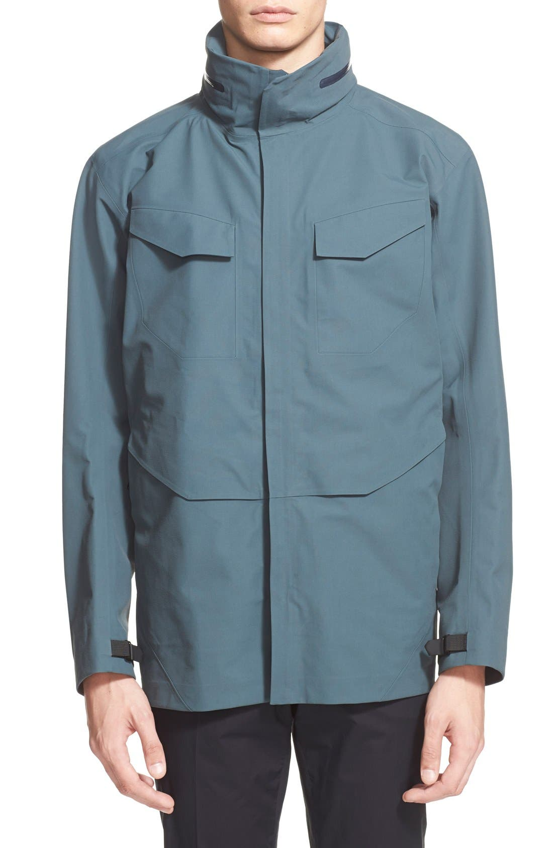 ARC'TERYX VEILANCE,                             Waterproof Field Jacket,                             Main thumbnail 1, color,                             400