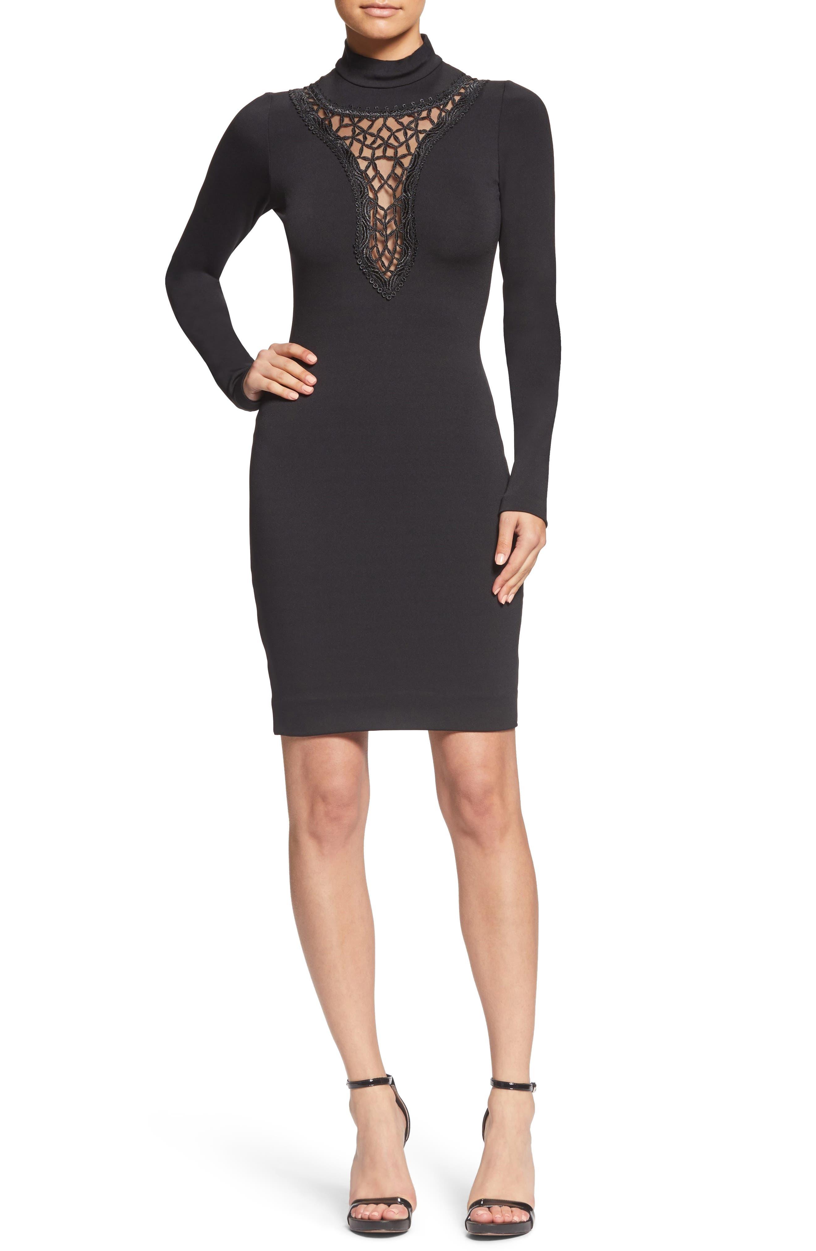Dress The Population Hayden Embellished Dress, Black