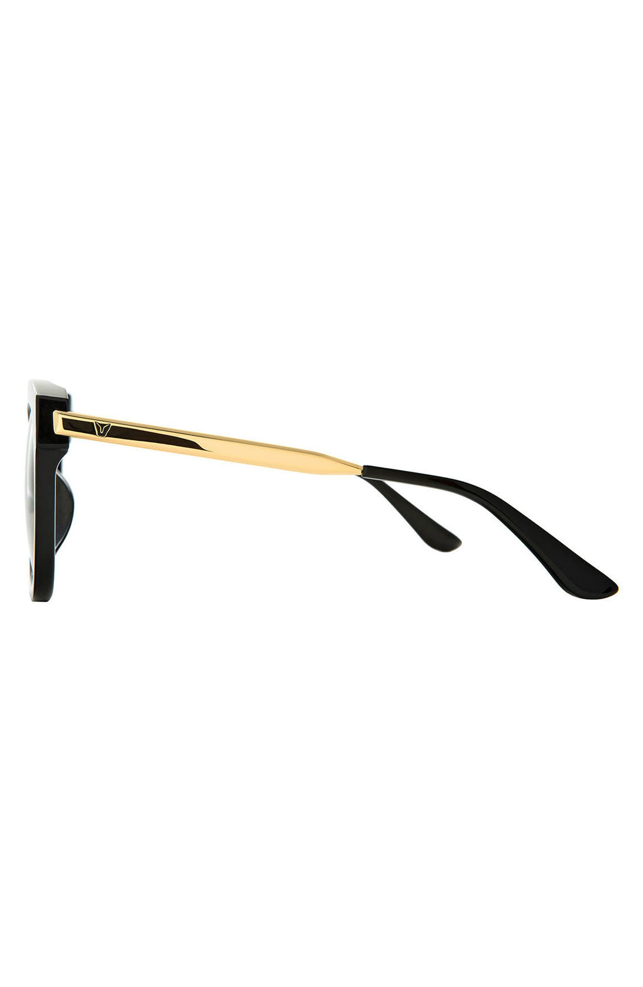Cuba 55mm Sunglasses,                             Alternate thumbnail 2, color,                             001