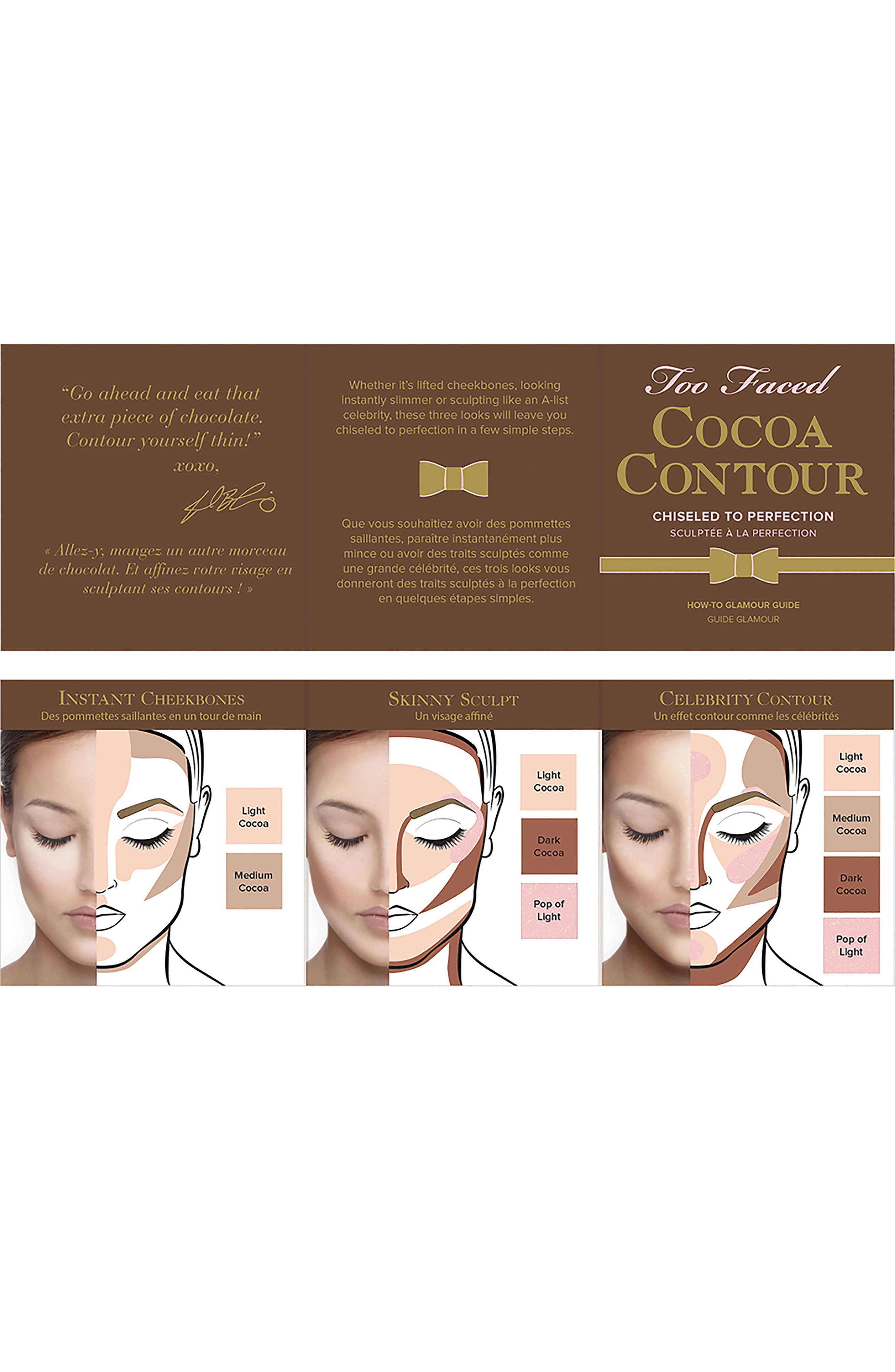 Cocoa Contour Chiseled To Perfection Palette,                             Alternate thumbnail 7, color,                             NO COLOR