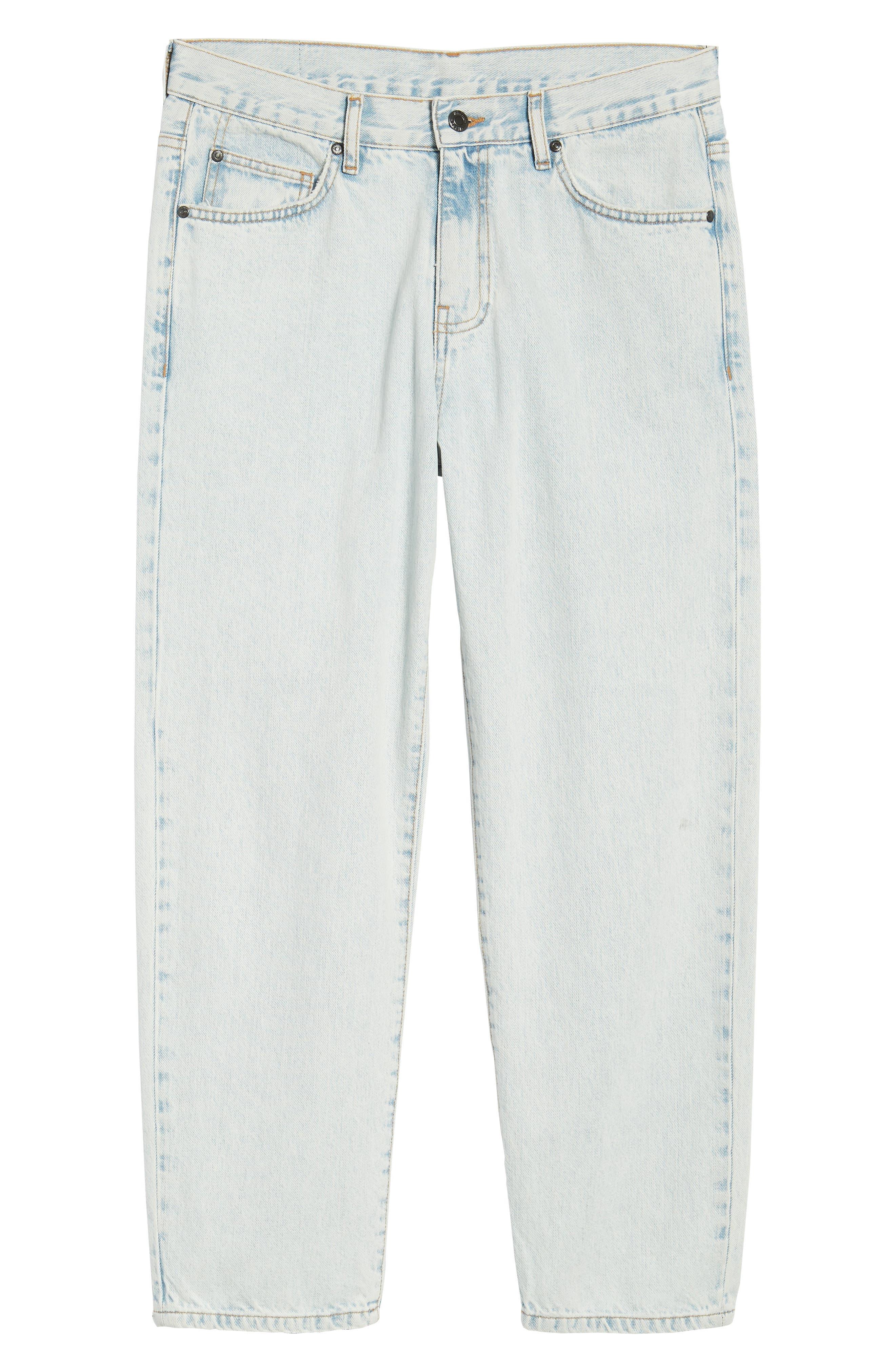 Otis Straight Fit Jeans,                             Alternate thumbnail 6, color,                             401
