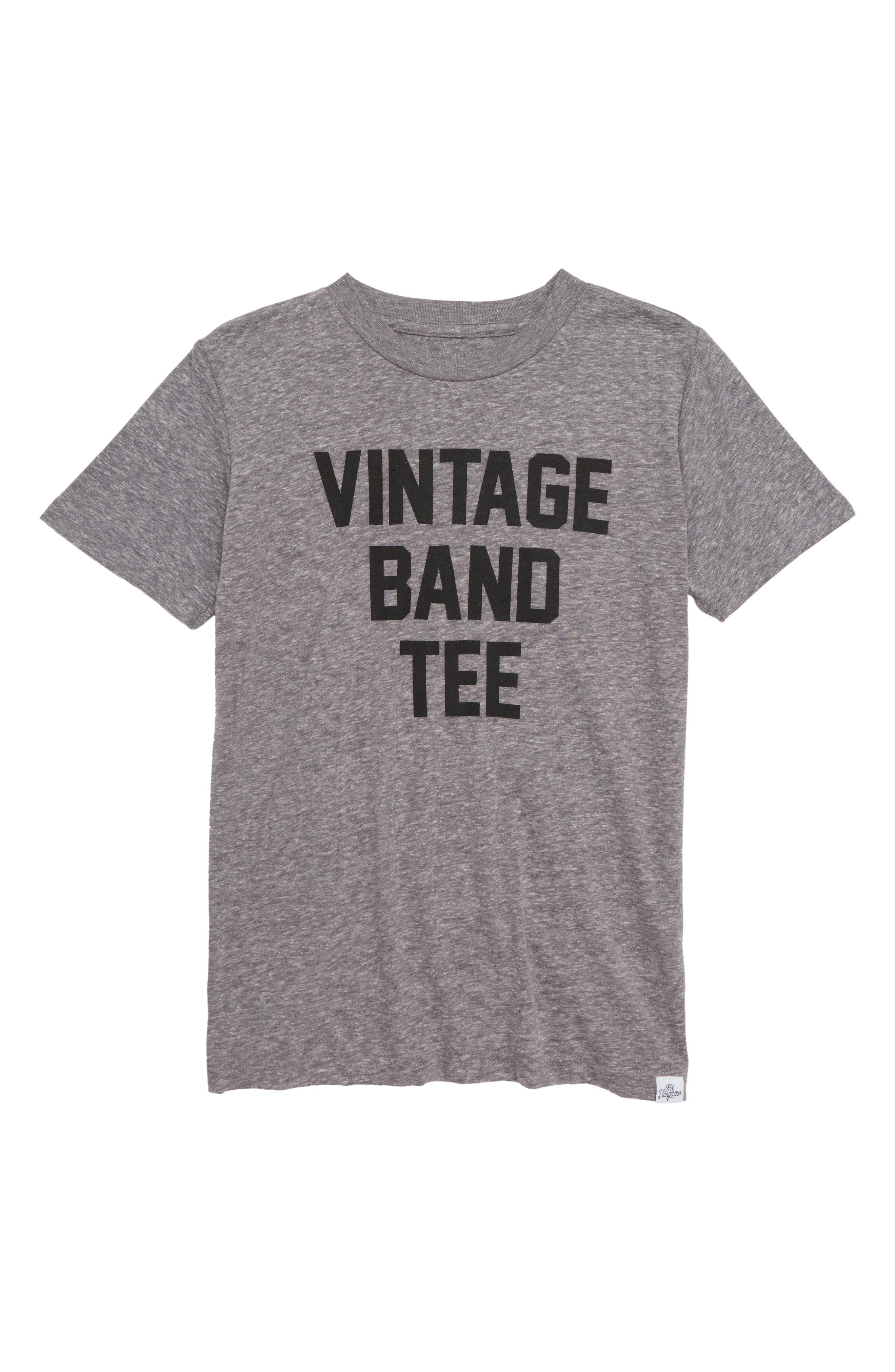 Vintage Band T-Shirt,                             Main thumbnail 1, color,                             030