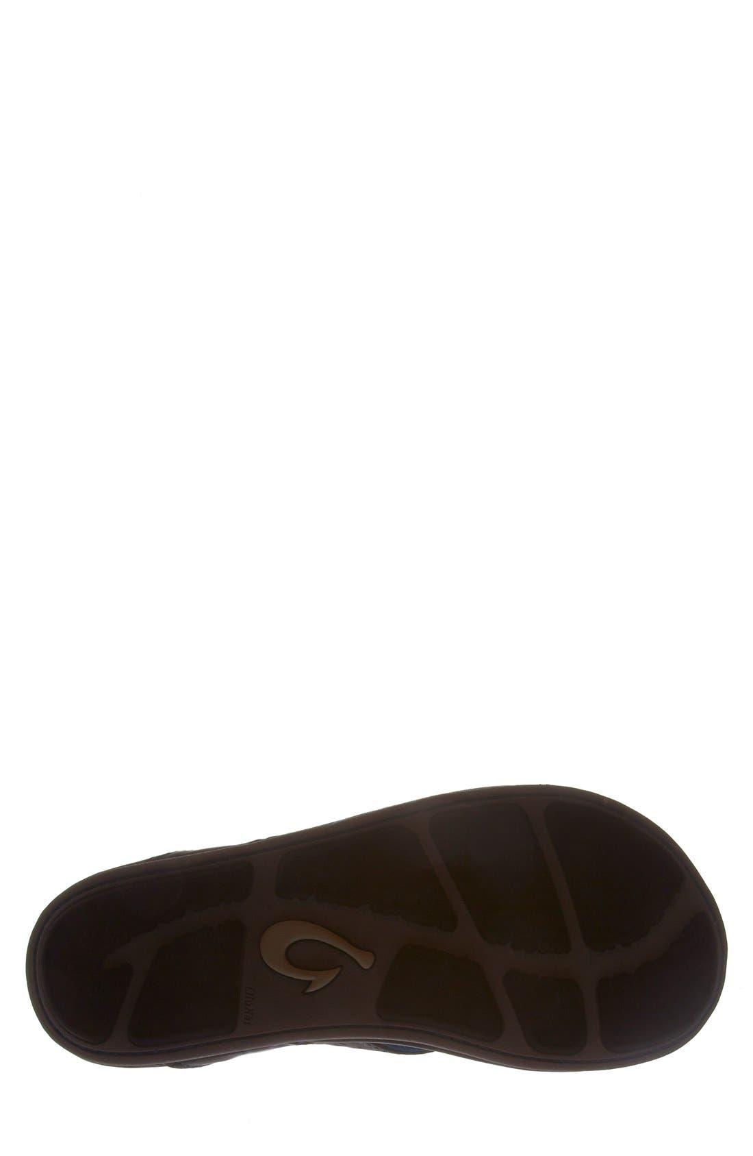 OLUKAI,                             'Kekoa' Water Resistant Perforated Flip Flop,                             Alternate thumbnail 3, color,                             029