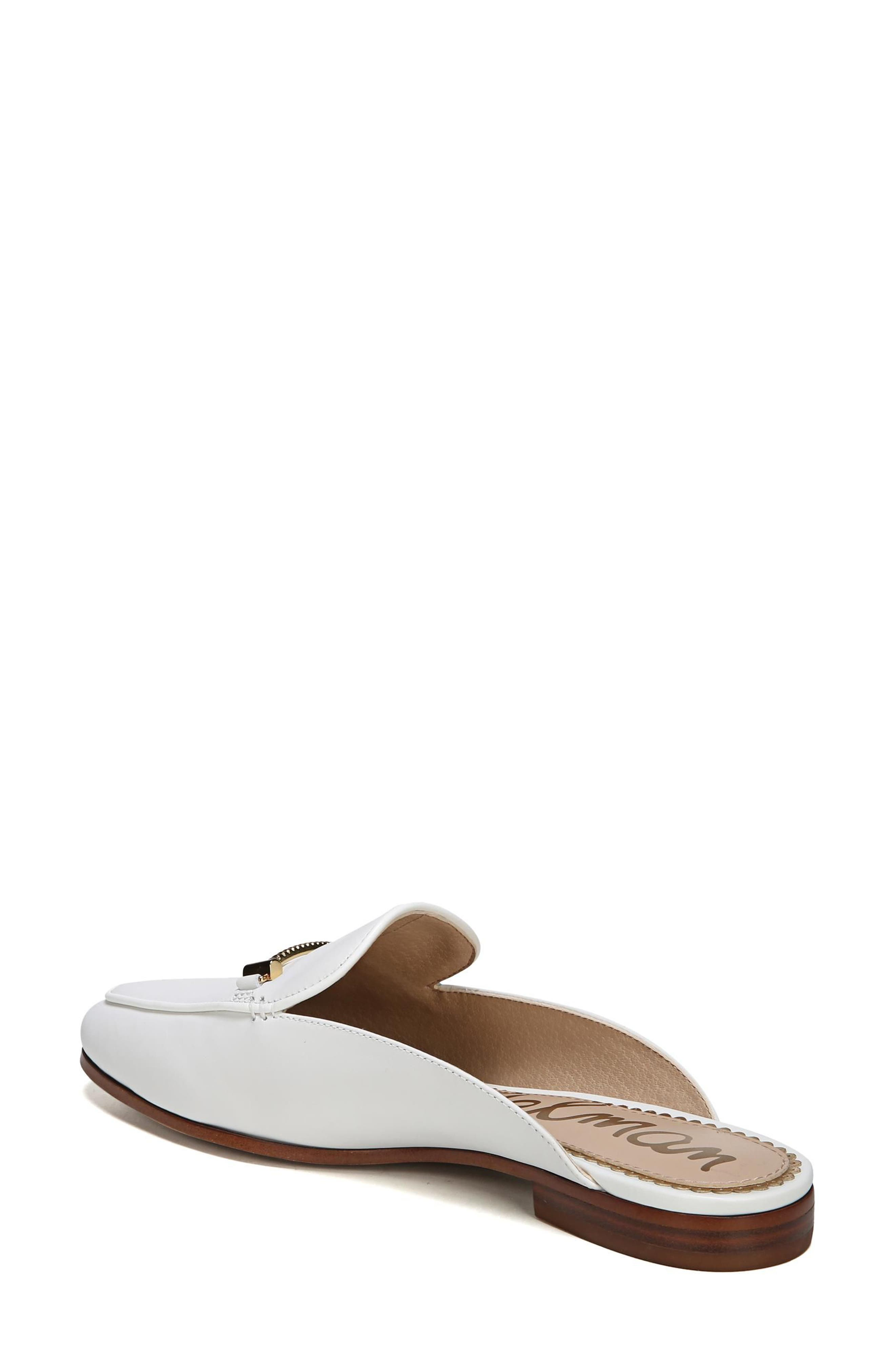 Laurna Mule,                             Alternate thumbnail 2, color,                             BRIGHT WHITE LEATHER