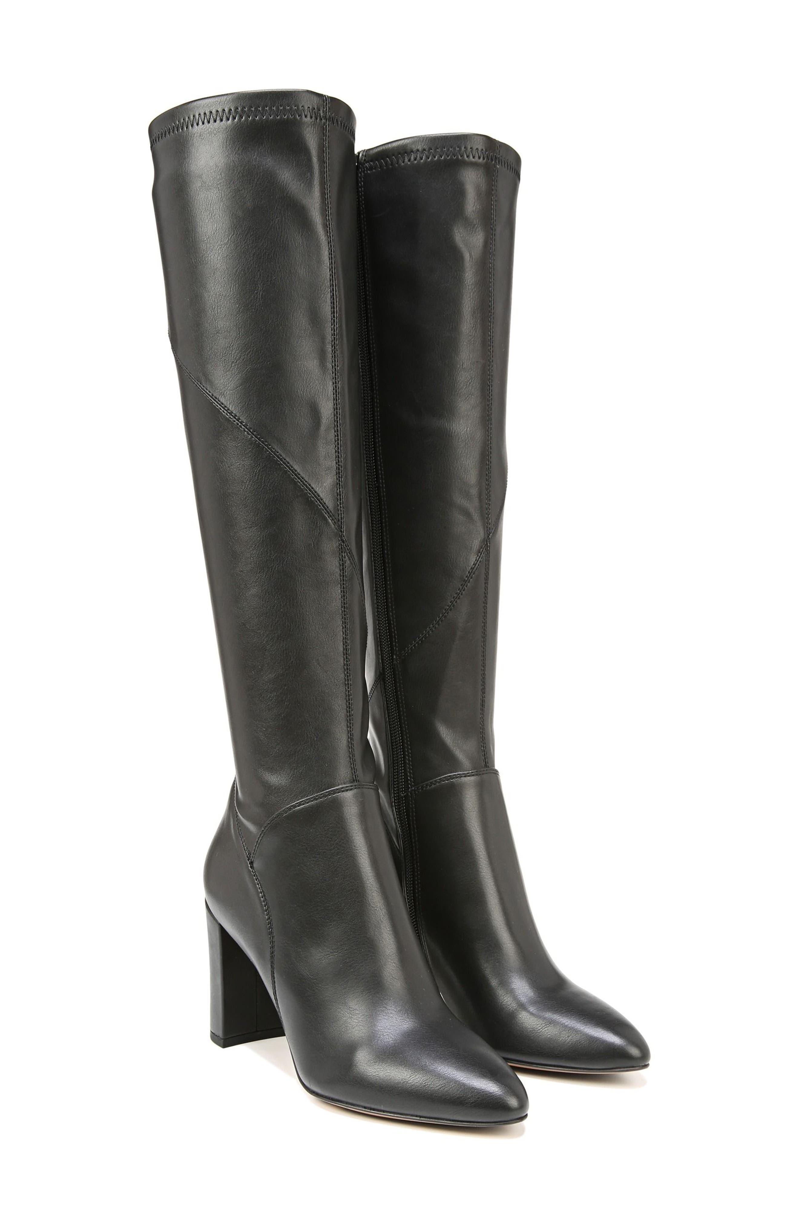 Flavia Knee High Boot,                             Alternate thumbnail 8, color,                             001