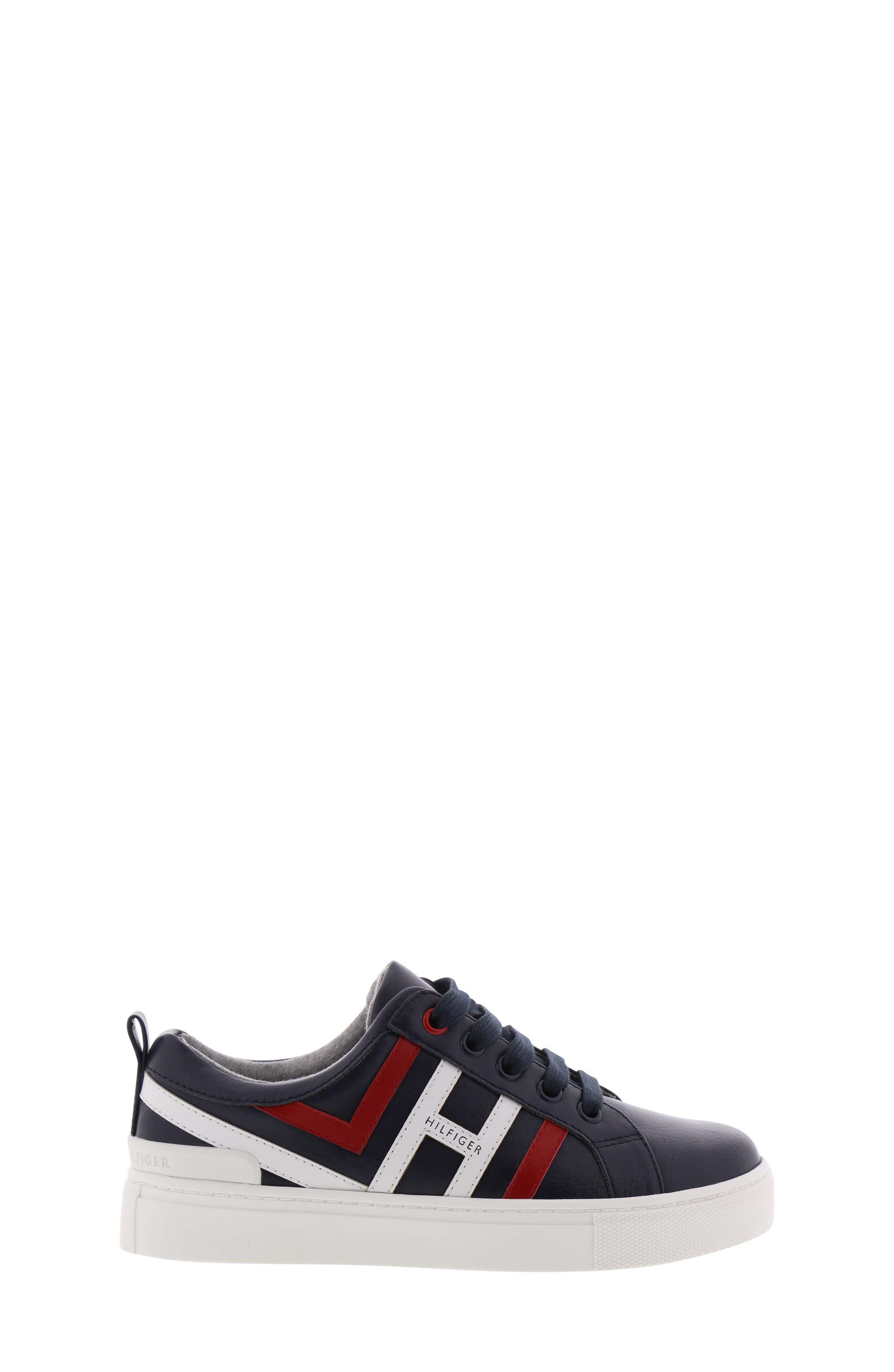 Reece Jacob Sneaker,                             Alternate thumbnail 3, color,                             PEACOAT MULTI