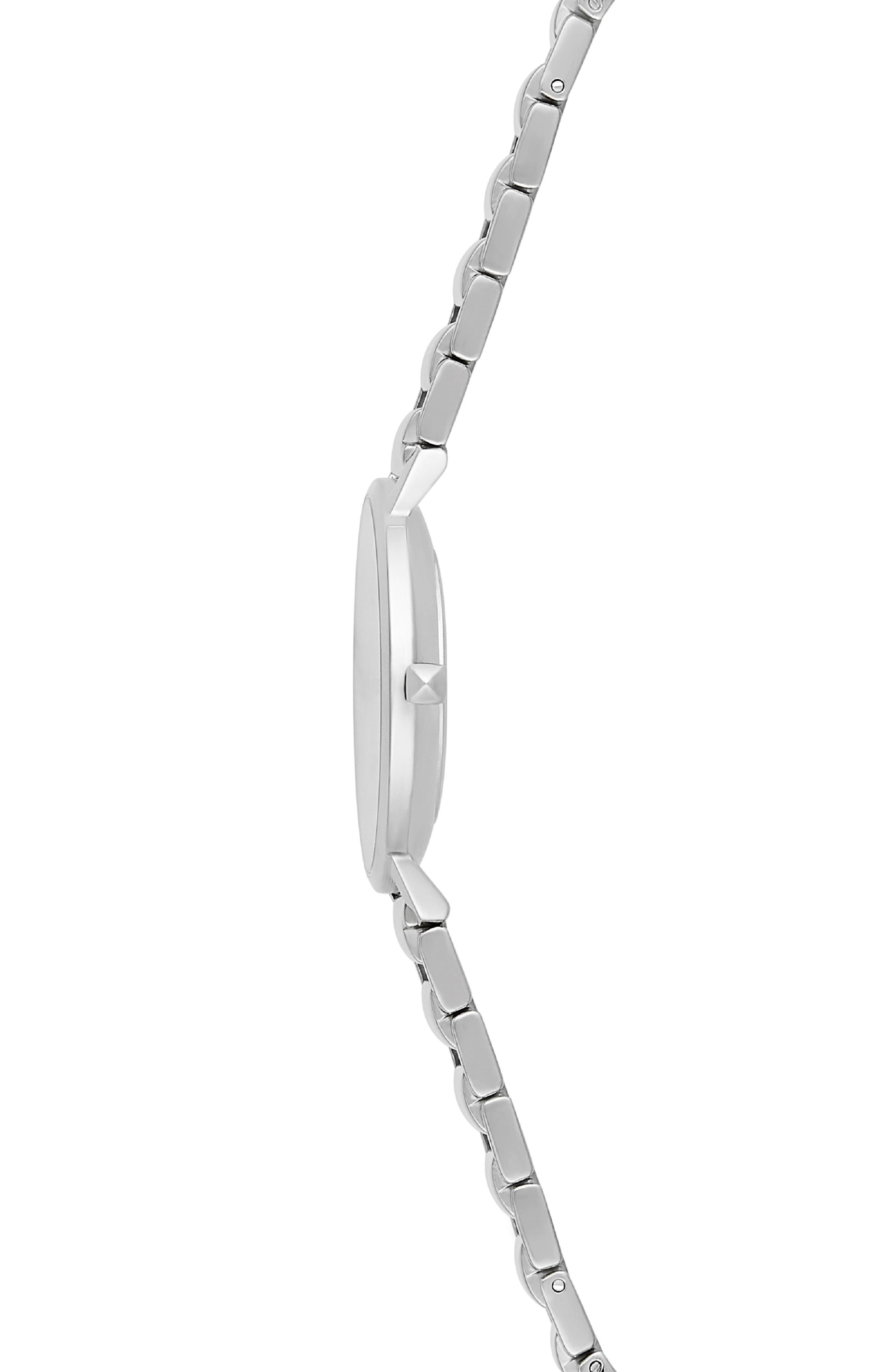 Major Bracelet Watch, 35mm,                             Alternate thumbnail 3, color,                             SILVER