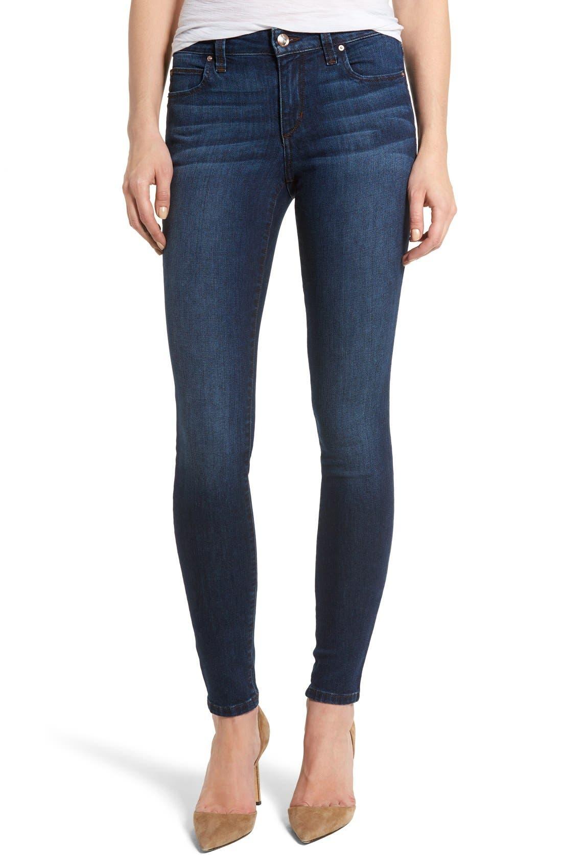 Honey Skinny Jeans,                             Alternate thumbnail 3, color,                             410
