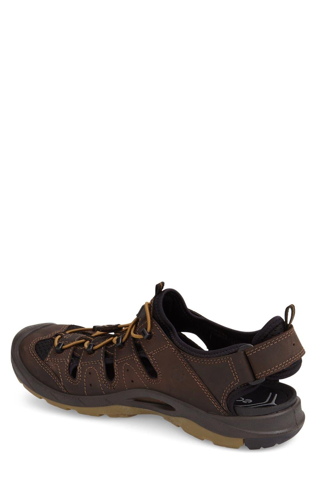 'BIOM Delta Offroad' Sandal,                             Alternate thumbnail 4, color,