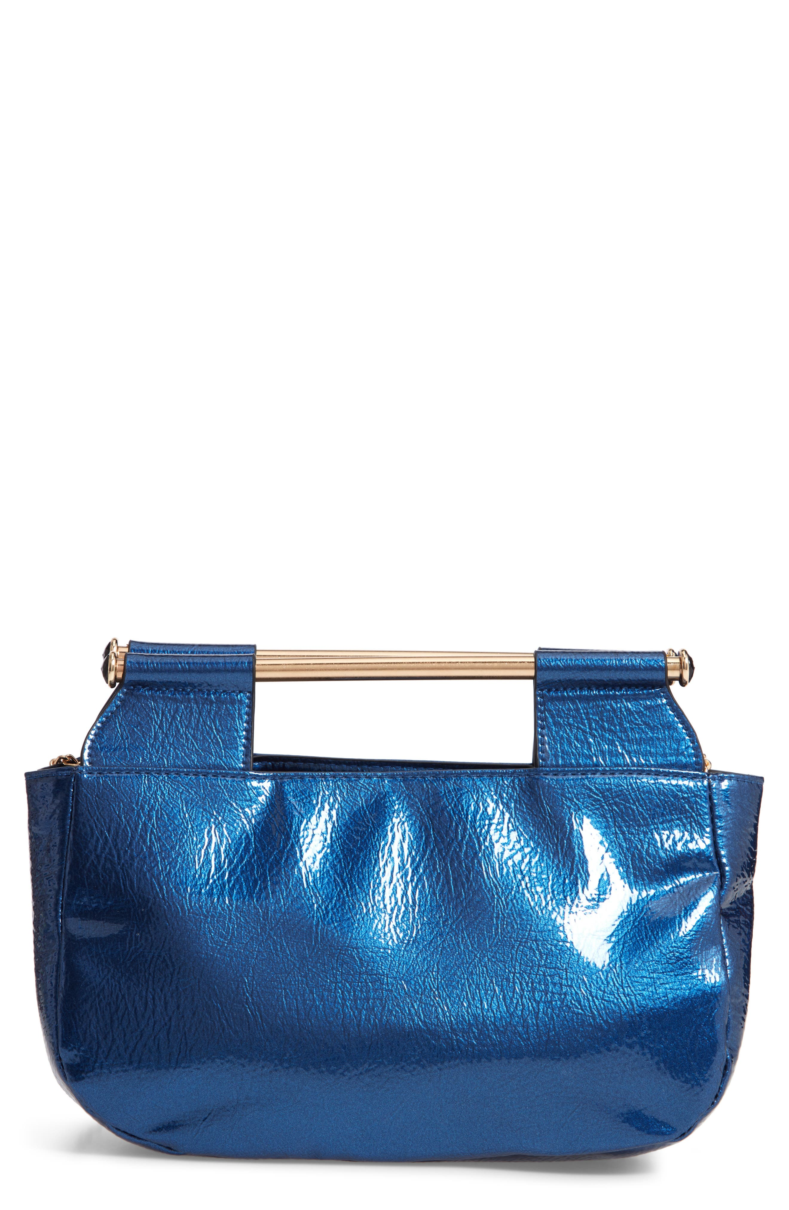 Patent Leather Crossbody Bag,                         Main,                         color, 400